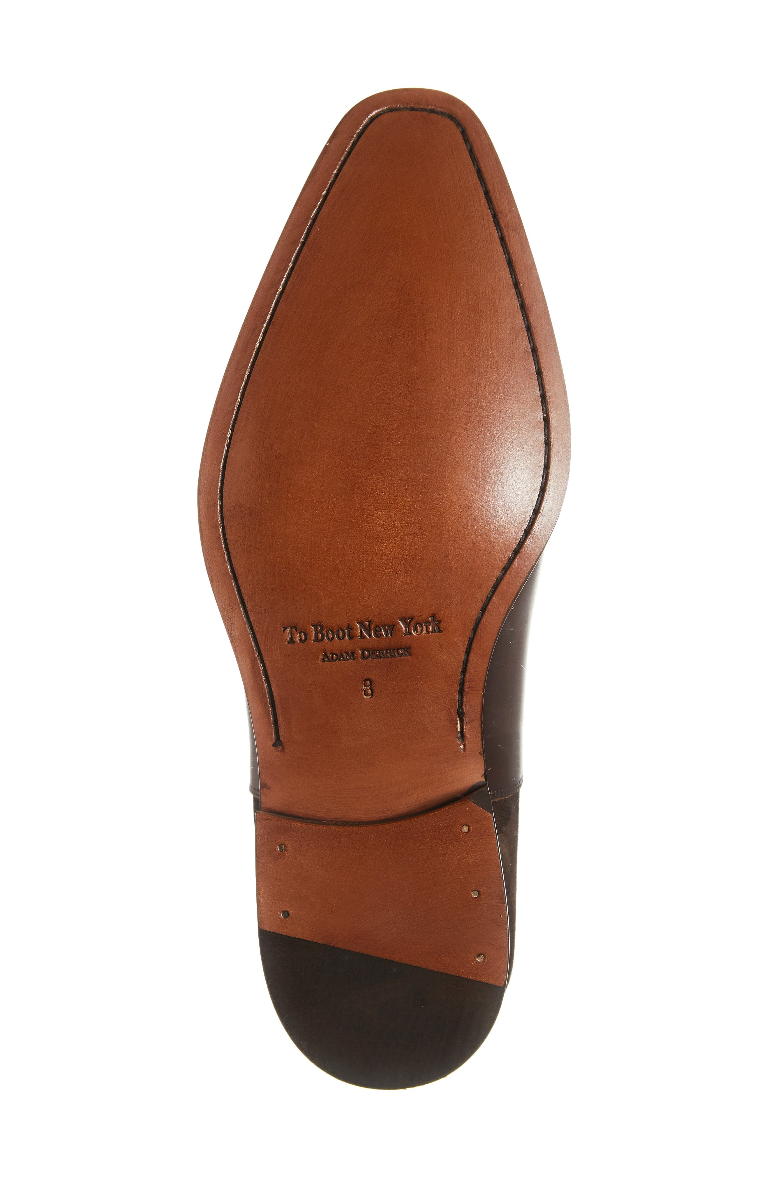 Amadora Cap Toe Oxford,                             Alternate thumbnail 6, color,                             BERRY/ BROWN LEATHER