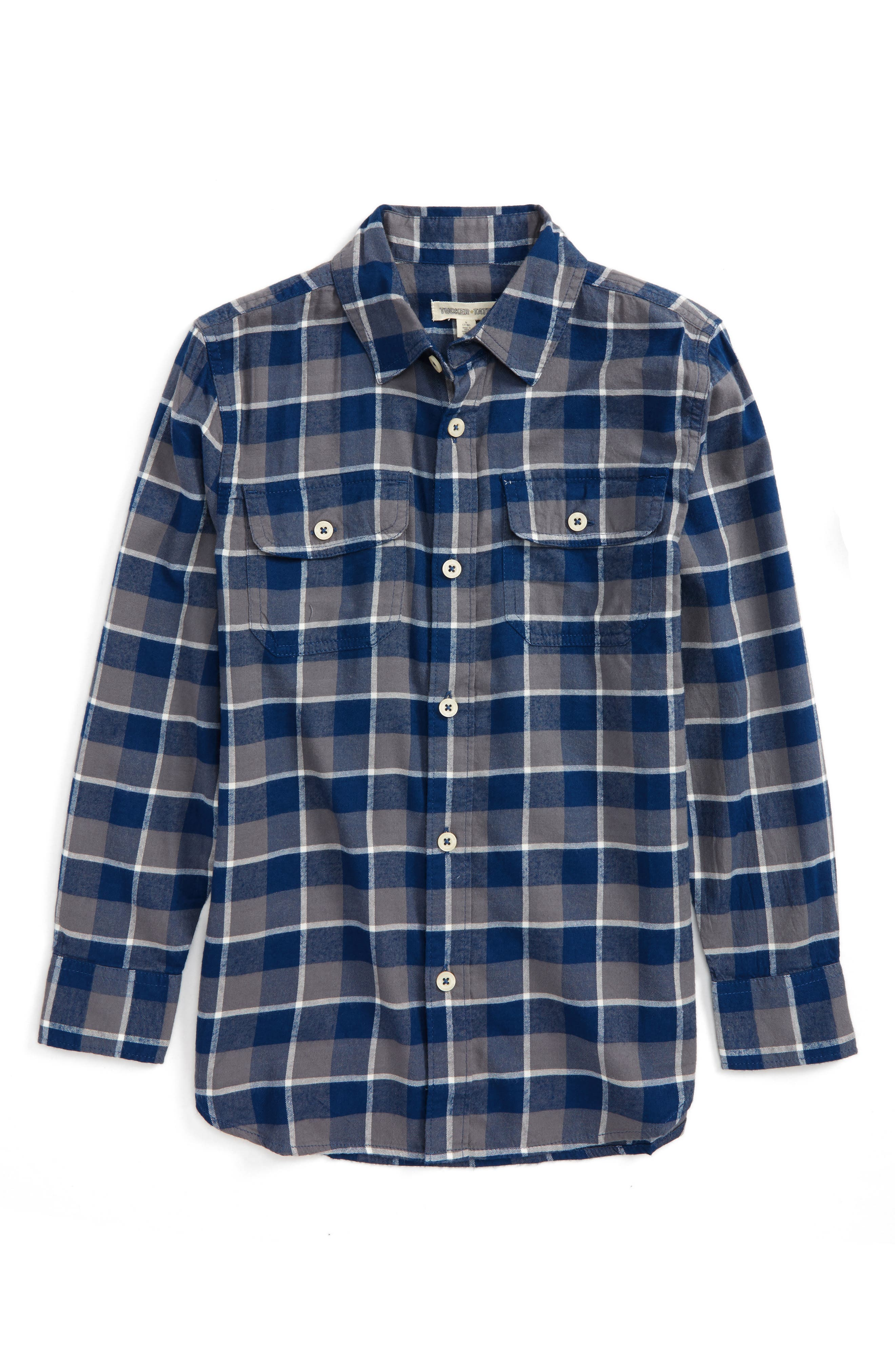 Ultrasoft Flannel Shirt,                             Main thumbnail 2, color,