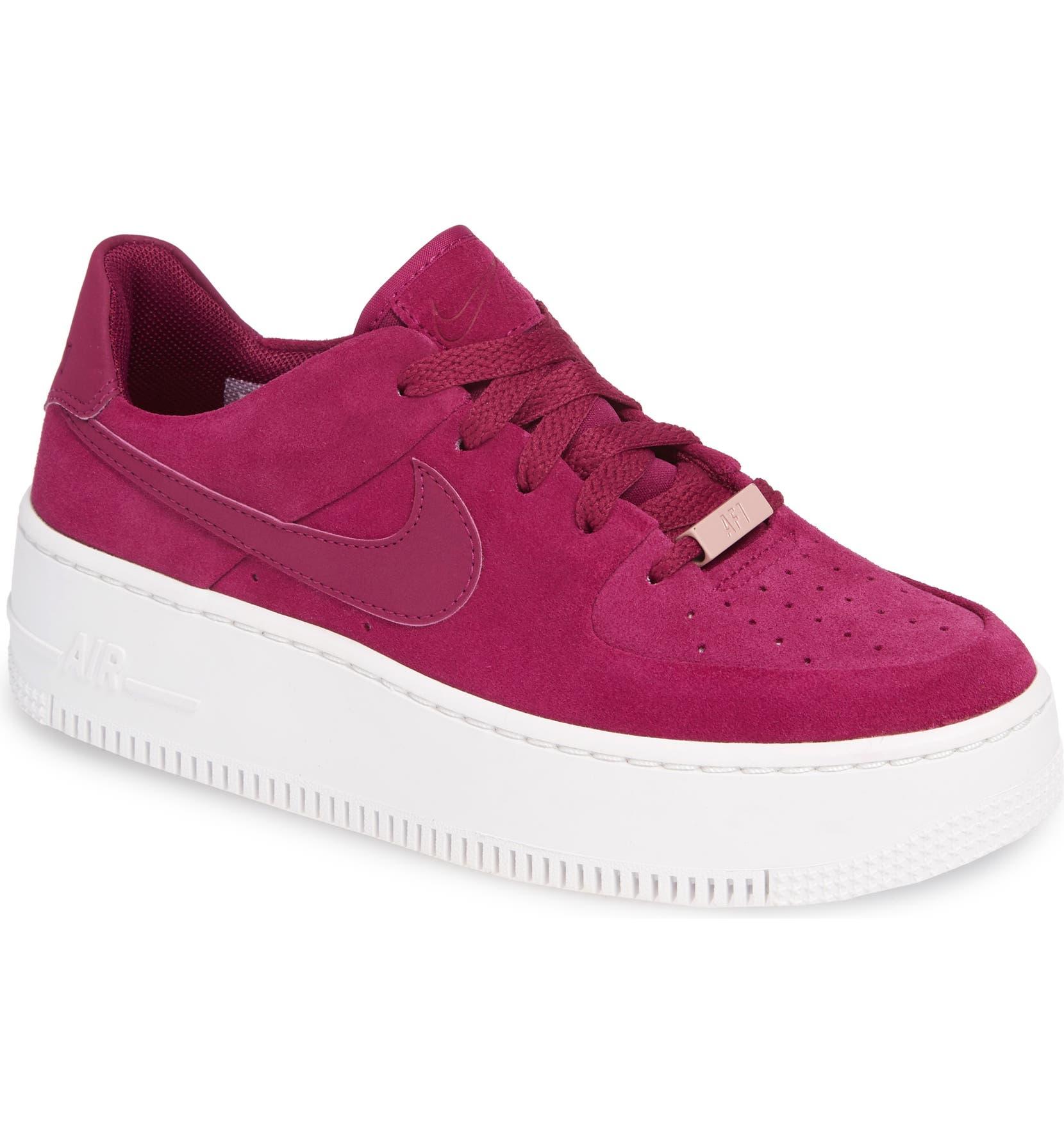 bf1aeea2664 Nike Air Force 1 Sage Low Platform Sneaker (Women)
