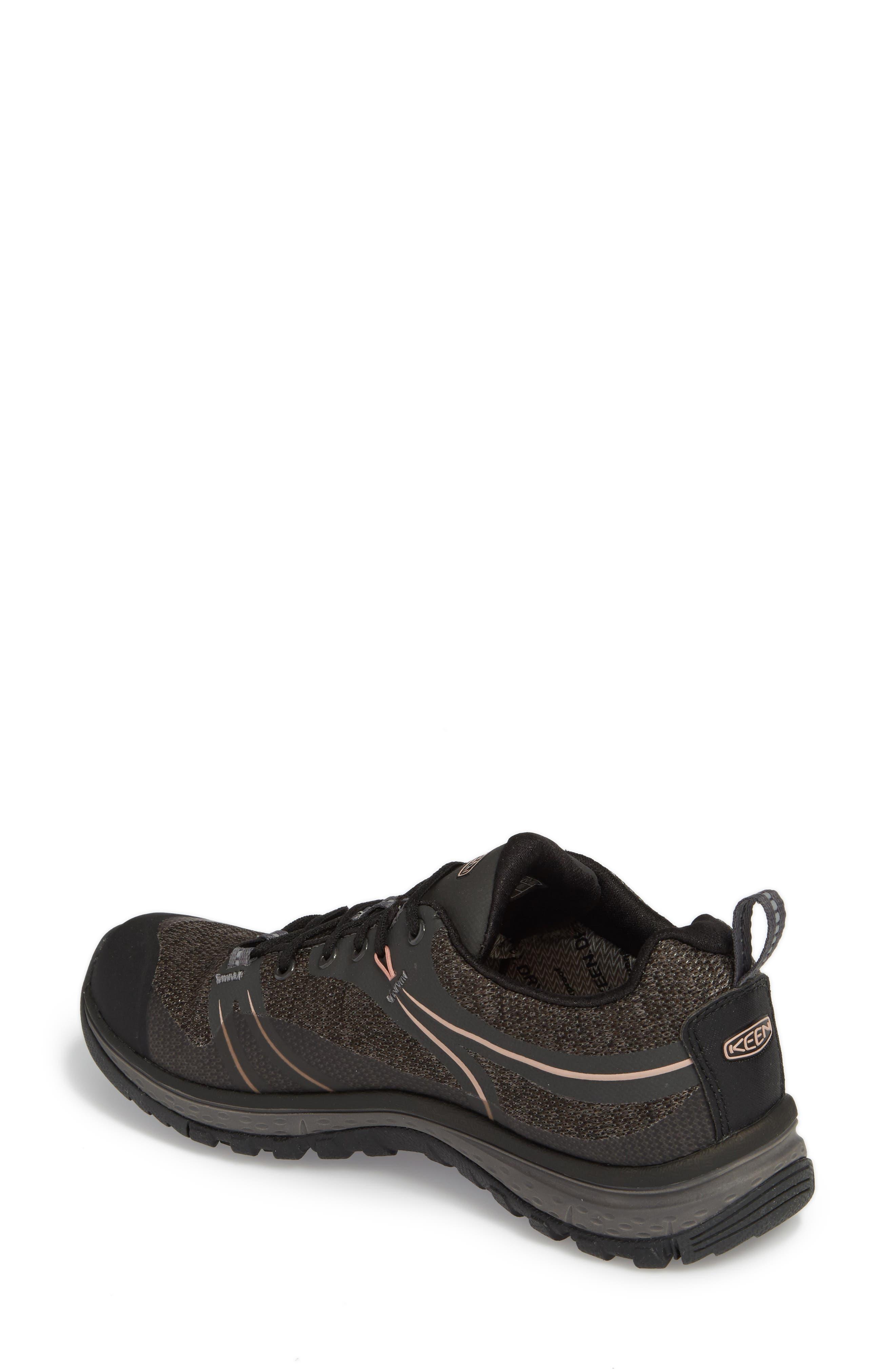 Terradora Waterproof Hiking Shoe,                             Alternate thumbnail 2, color,                             RAVEN/ ROSE DAWN