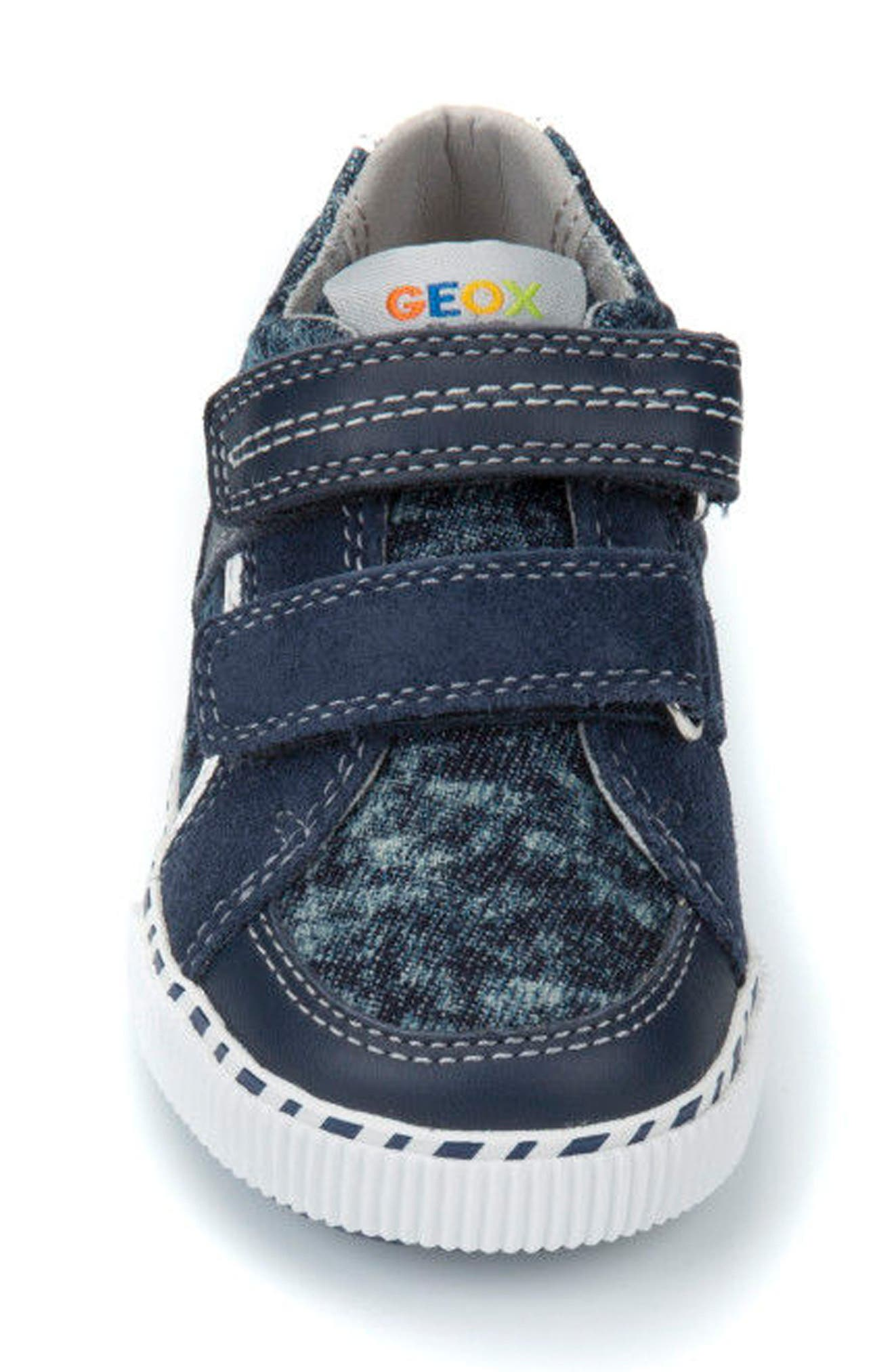 Kilwi Knit Sneaker,                             Alternate thumbnail 4, color,                             NAVY/ WHITE