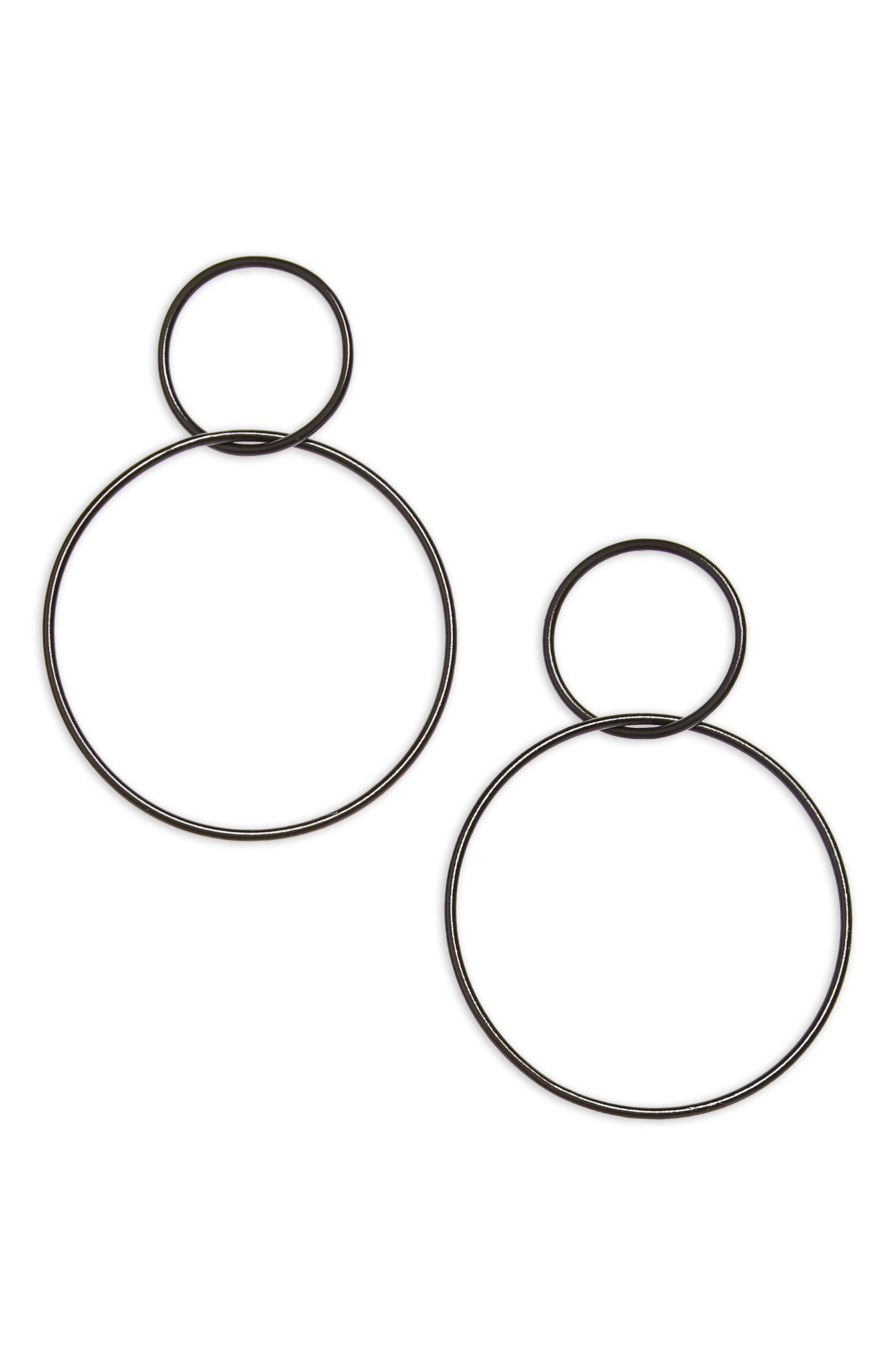 Floyd Circle Earrings,                             Main thumbnail 1, color,                             001
