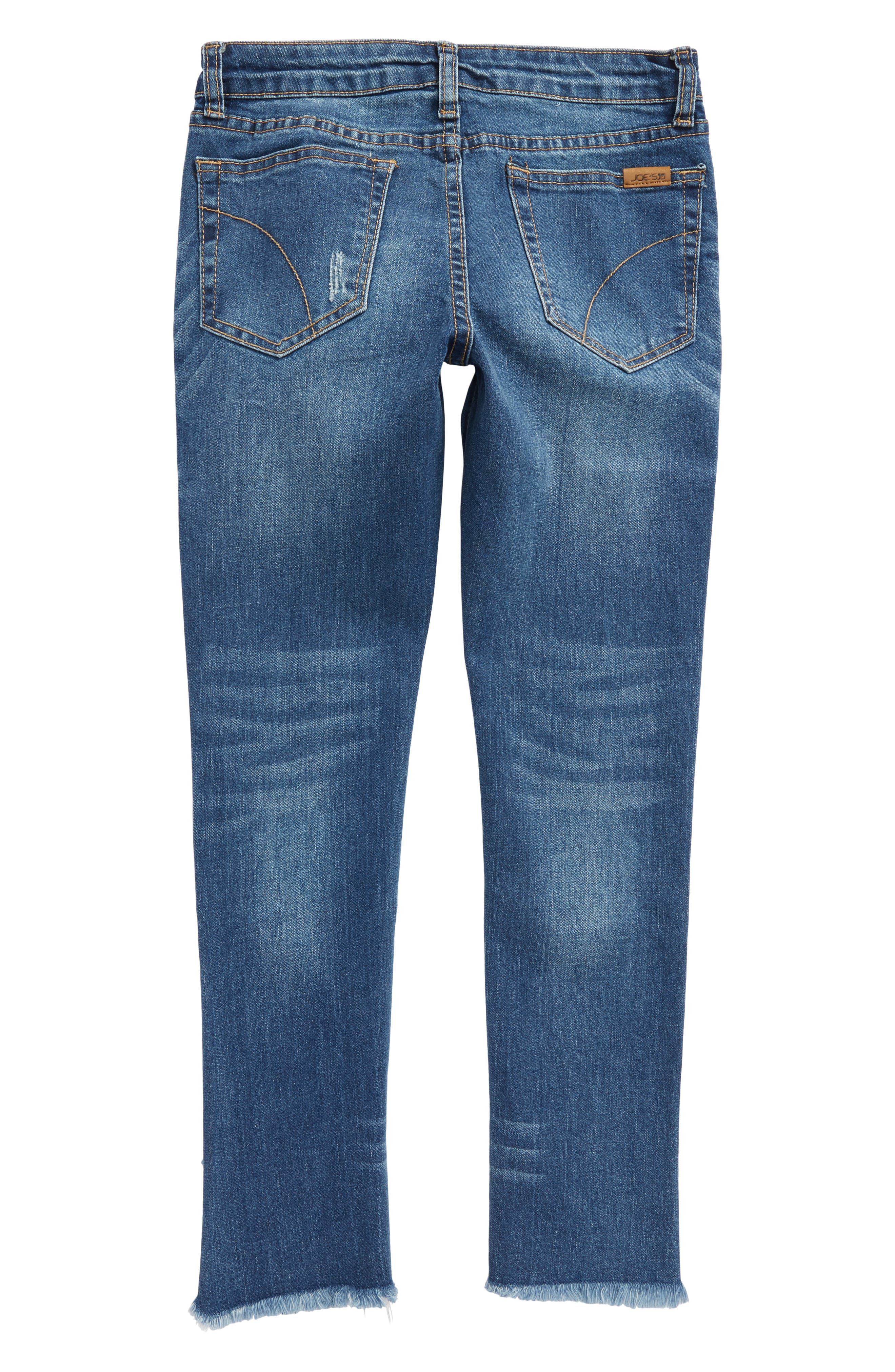 The Markie Ankle Skinny Jeans,                             Alternate thumbnail 4, color,