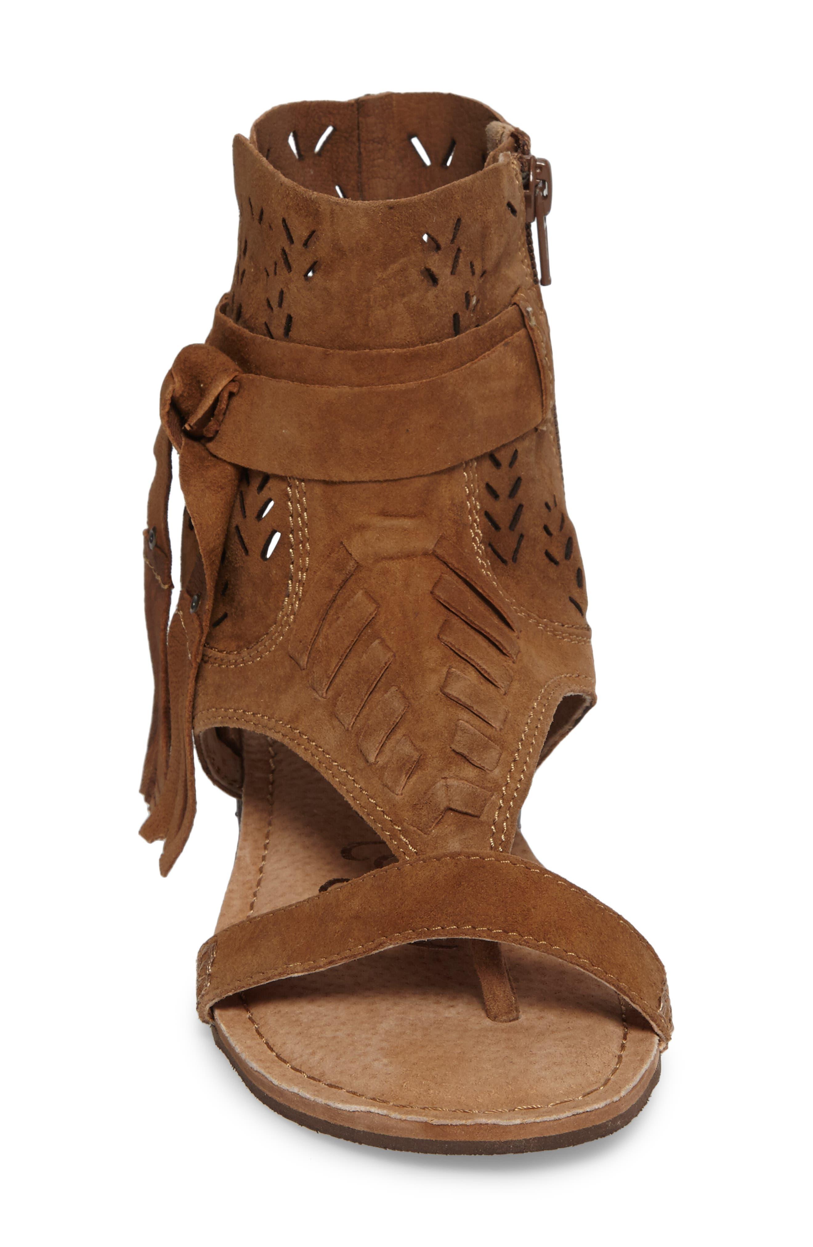 Cochise Flat Sandal,                             Alternate thumbnail 19, color,