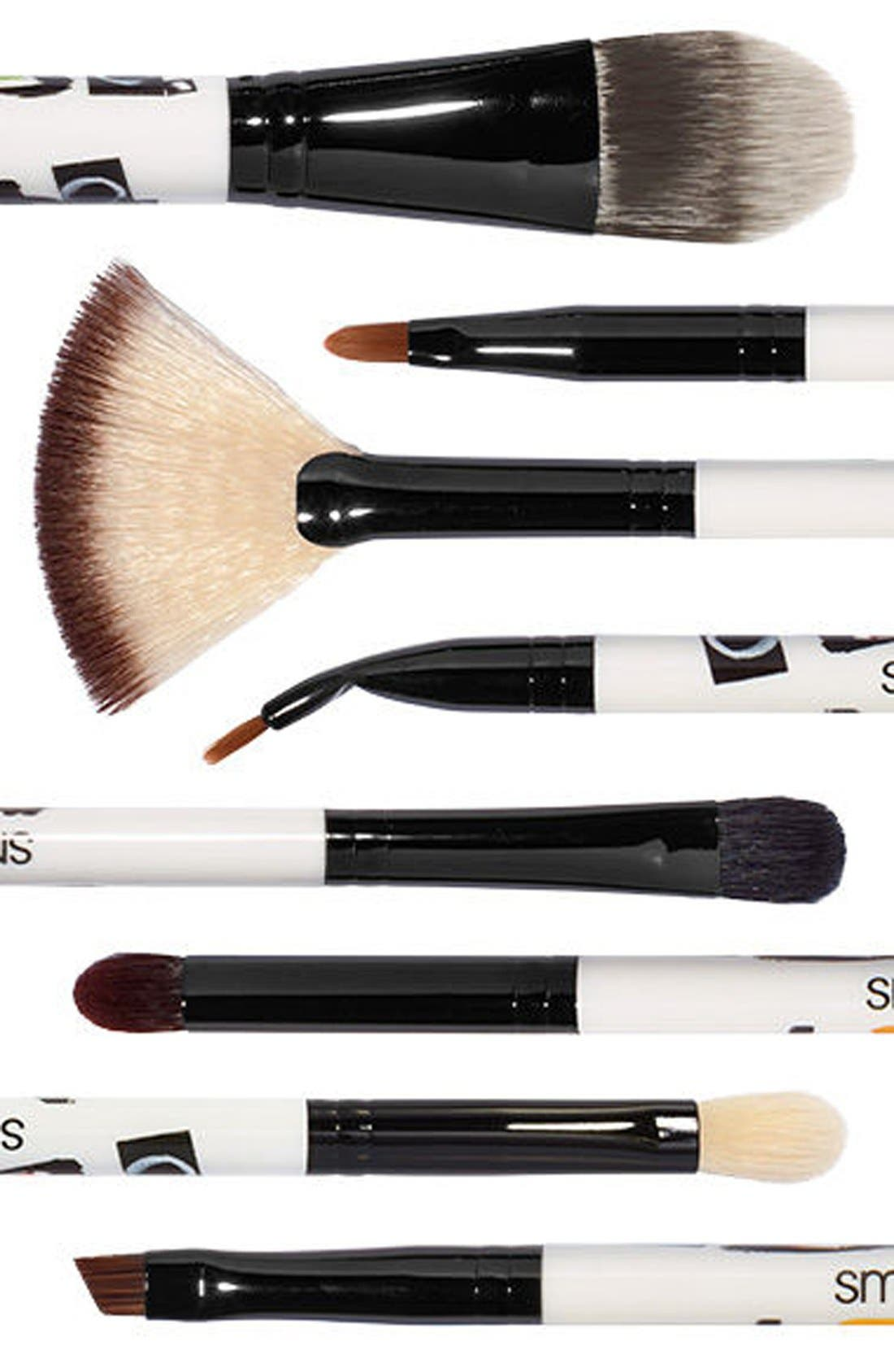 'Photo Bombshell' 8-Piece Brush Collection,                             Alternate thumbnail 3, color,                             000