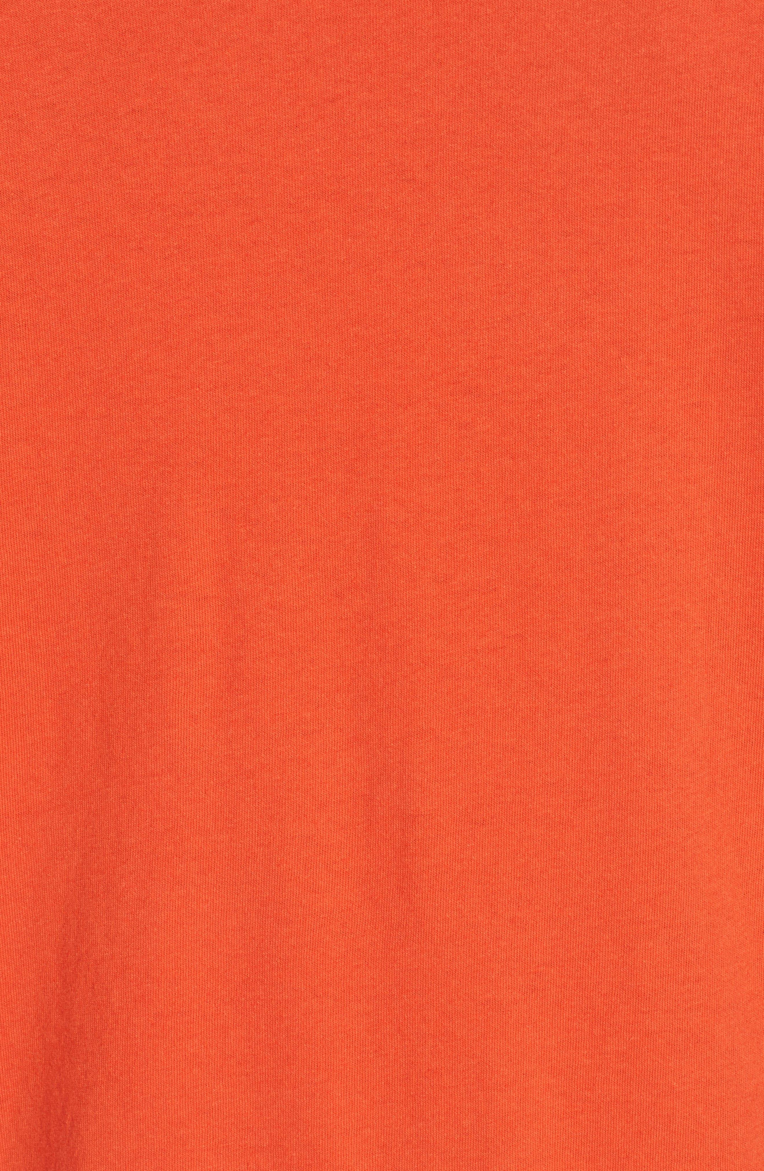 Portrait Graphic Box T-shirt,                             Alternate thumbnail 5, color,                             RED