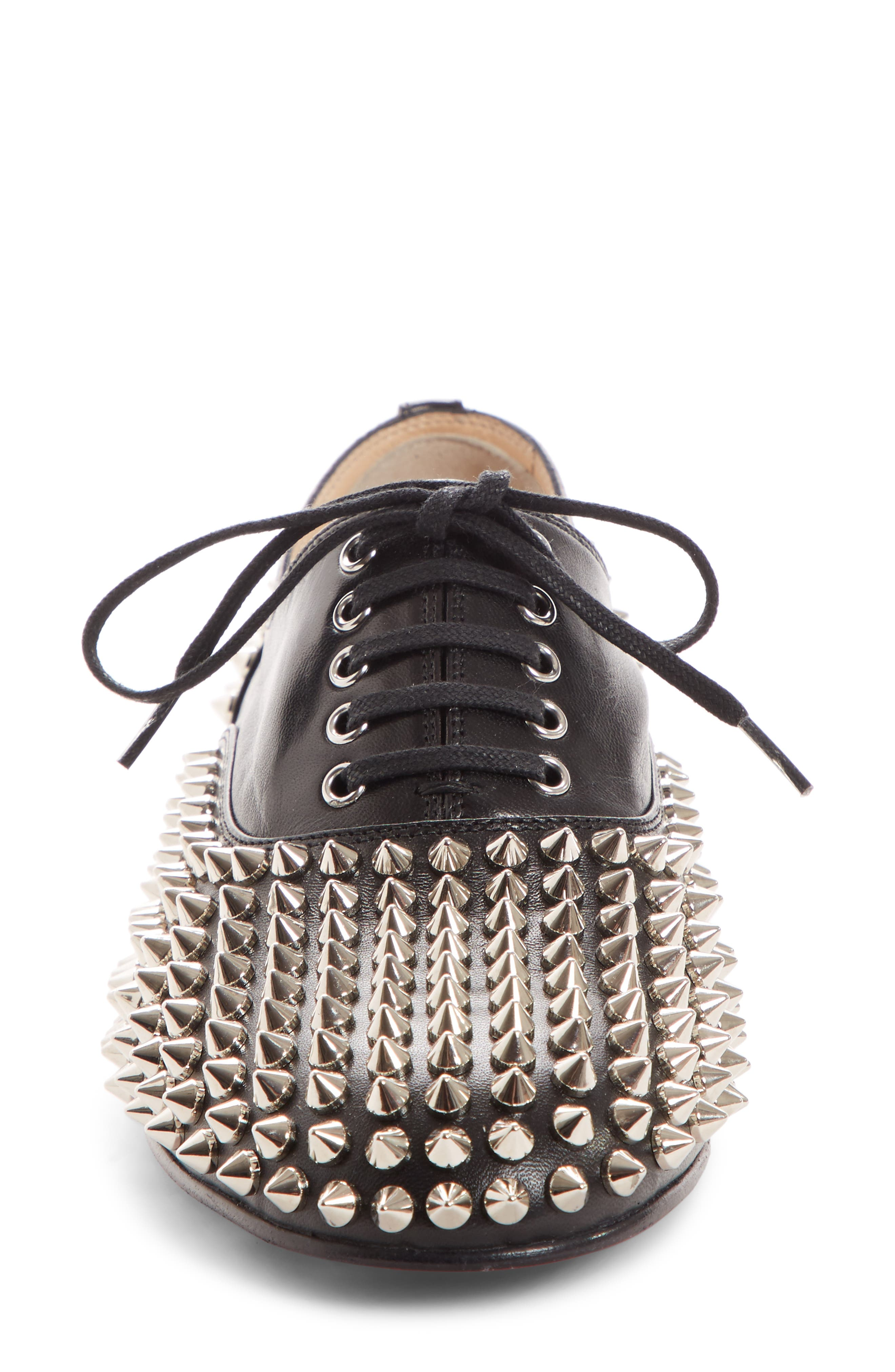 Freddy Spiked Loafer,                             Alternate thumbnail 4, color,                             006