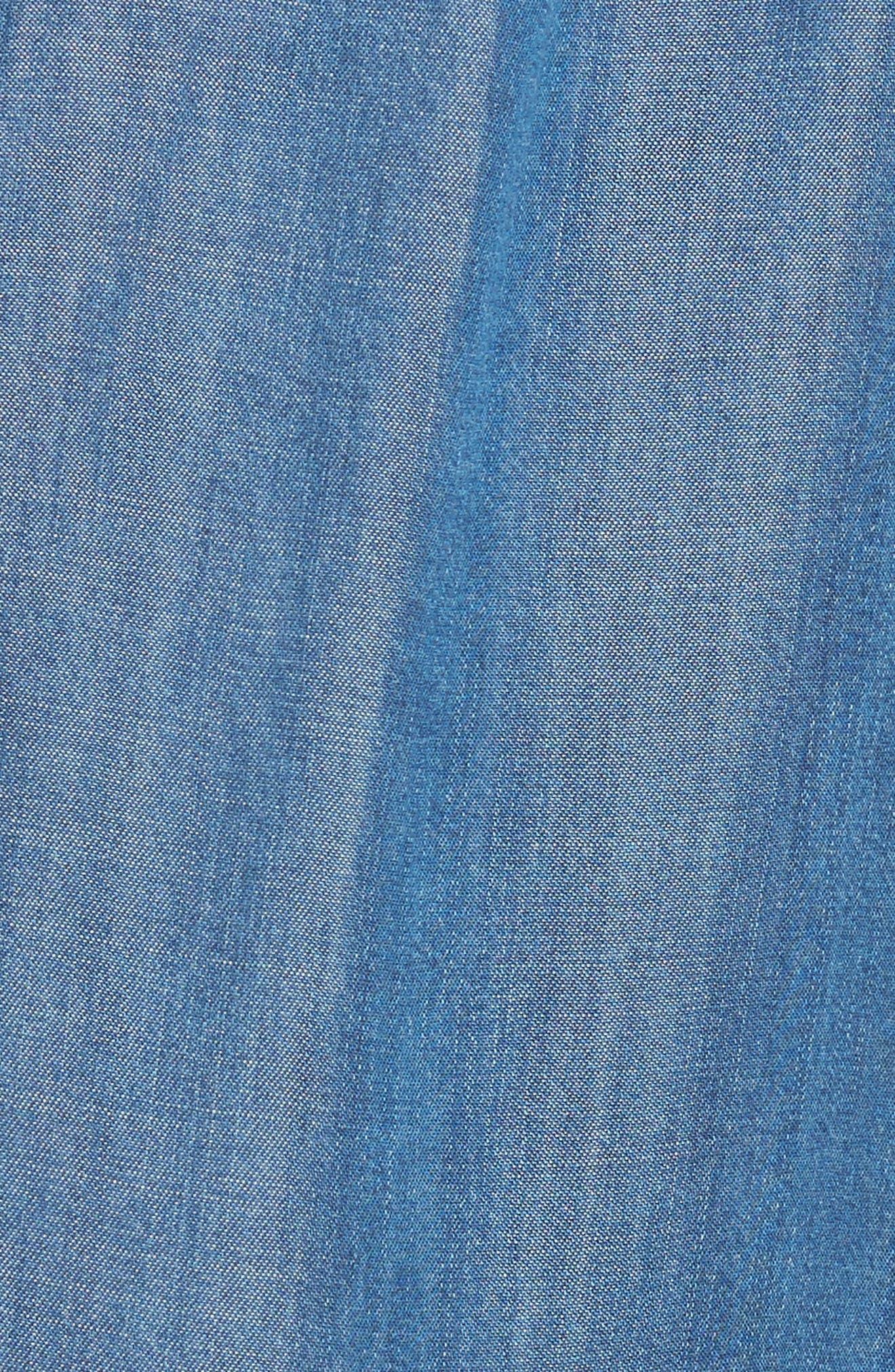 Watson Wide Leg Crop Pants,                             Alternate thumbnail 5, color,                             496