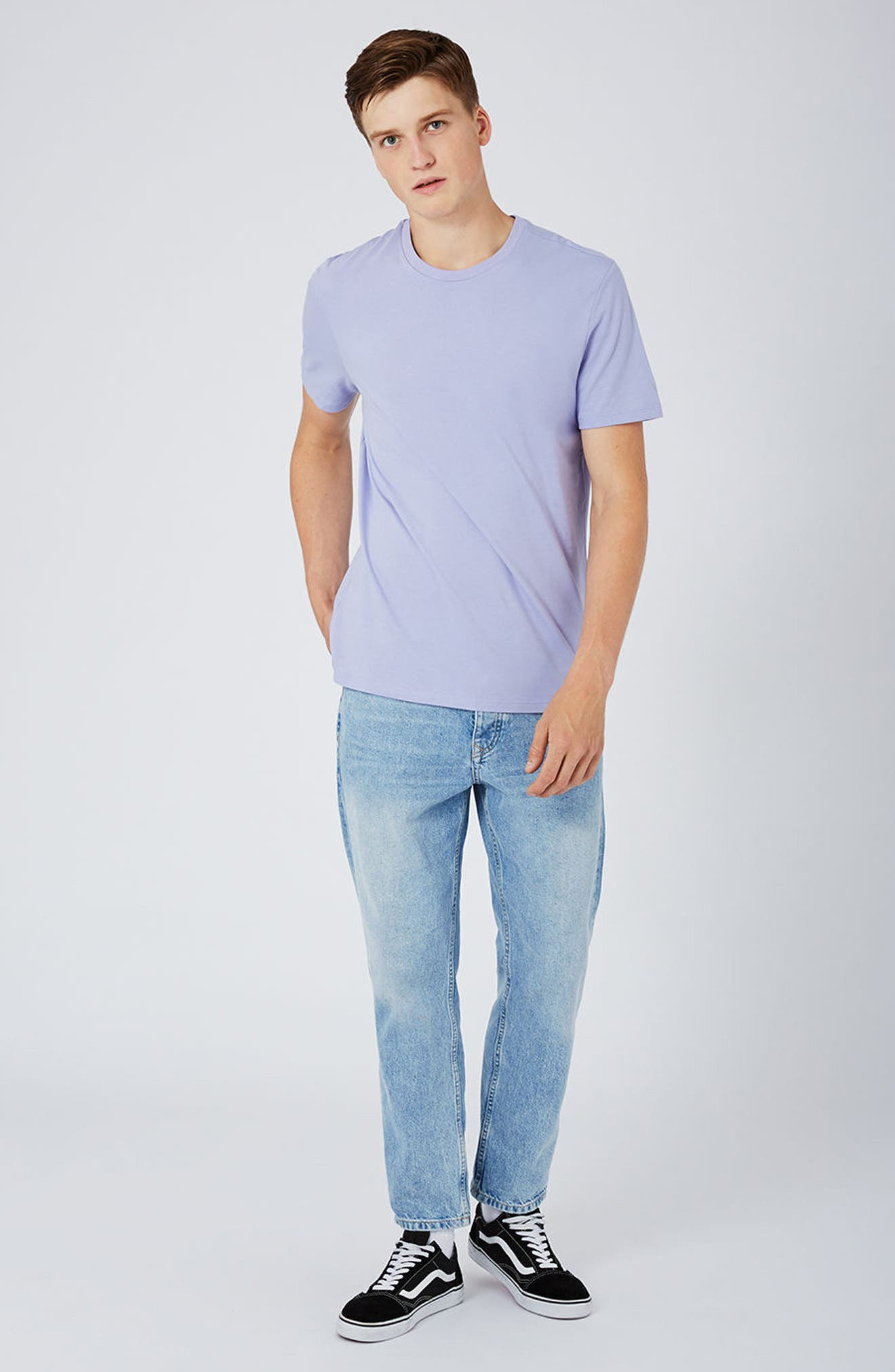 Slim Fit Crewneck T-Shirt,                             Alternate thumbnail 387, color,