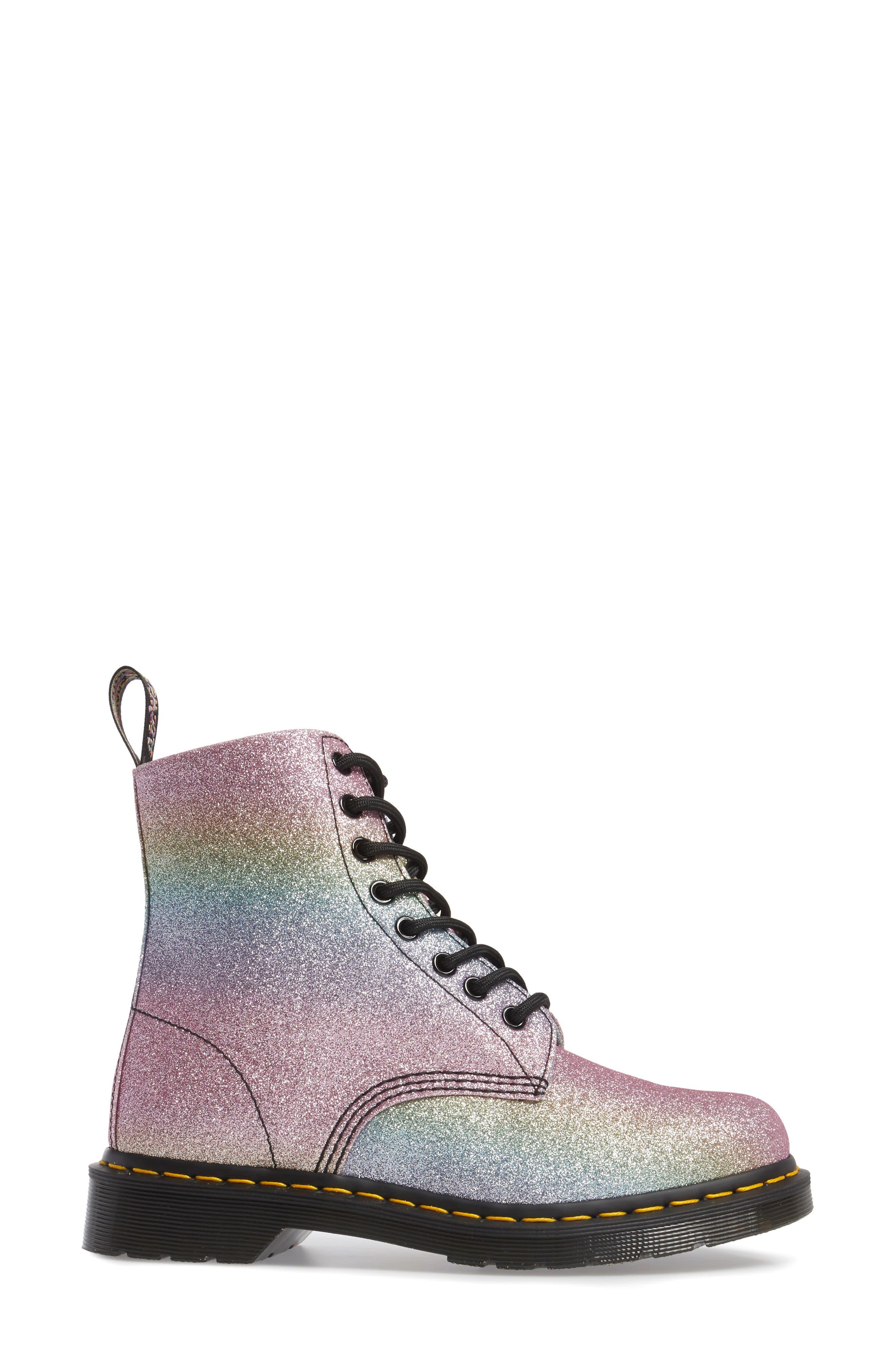 Pascal Glitter Boot,                             Alternate thumbnail 3, color,                             MULTI GLITTER