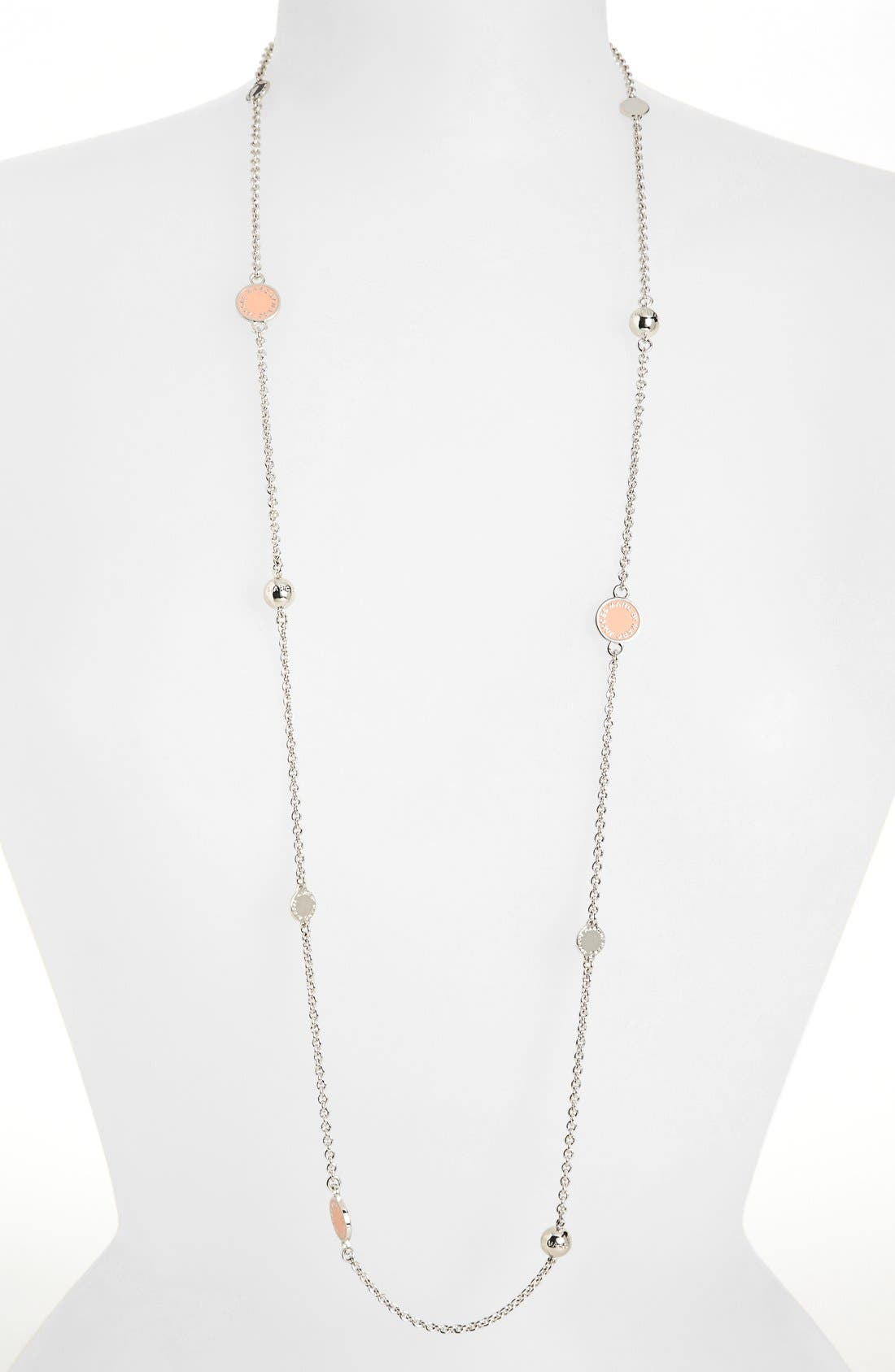 'Classic Marc' Long Necklace,                             Main thumbnail 14, color,