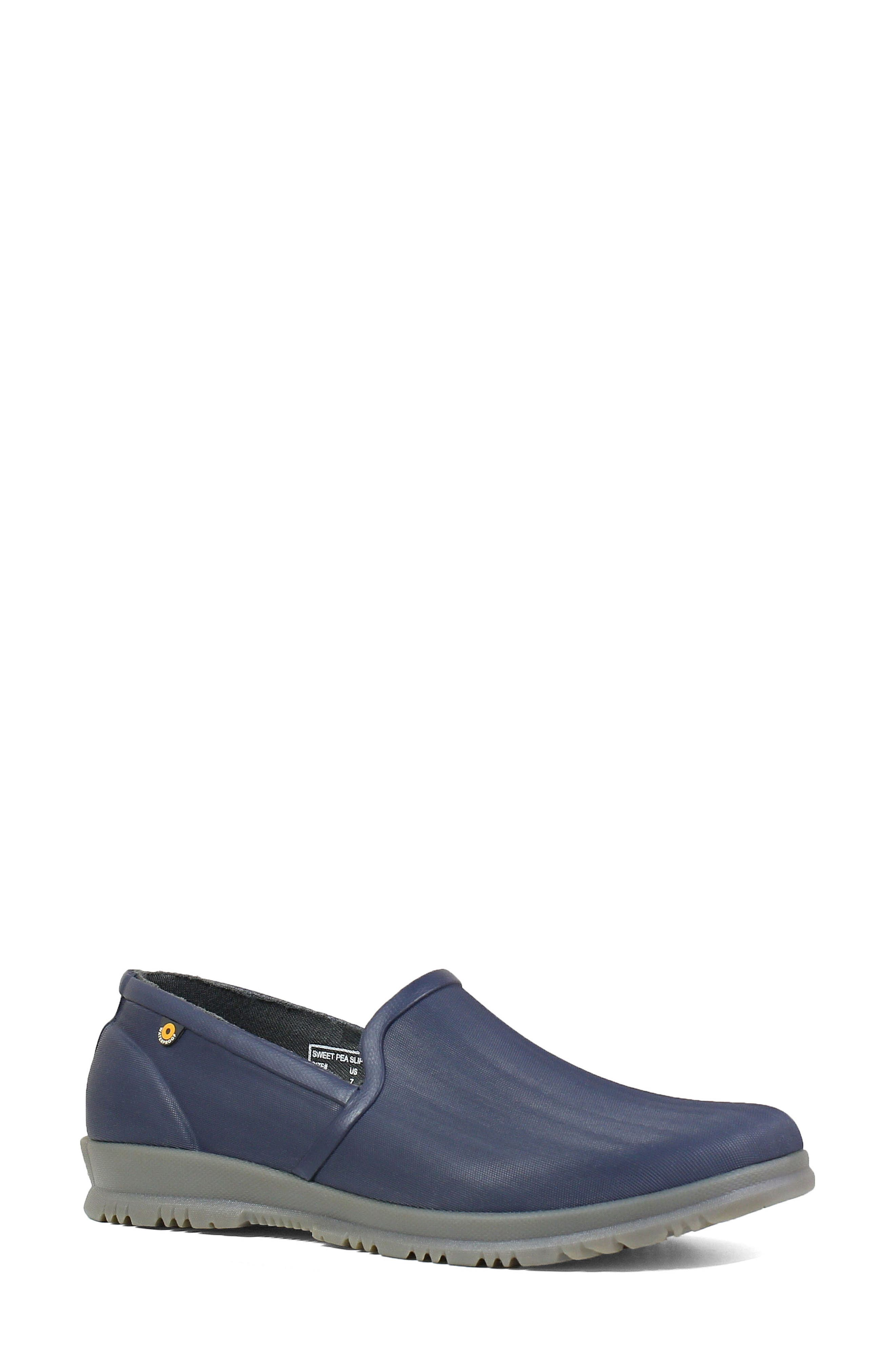 Bogs Sweetpea Waterproof Slip-On Sneaker, Blue
