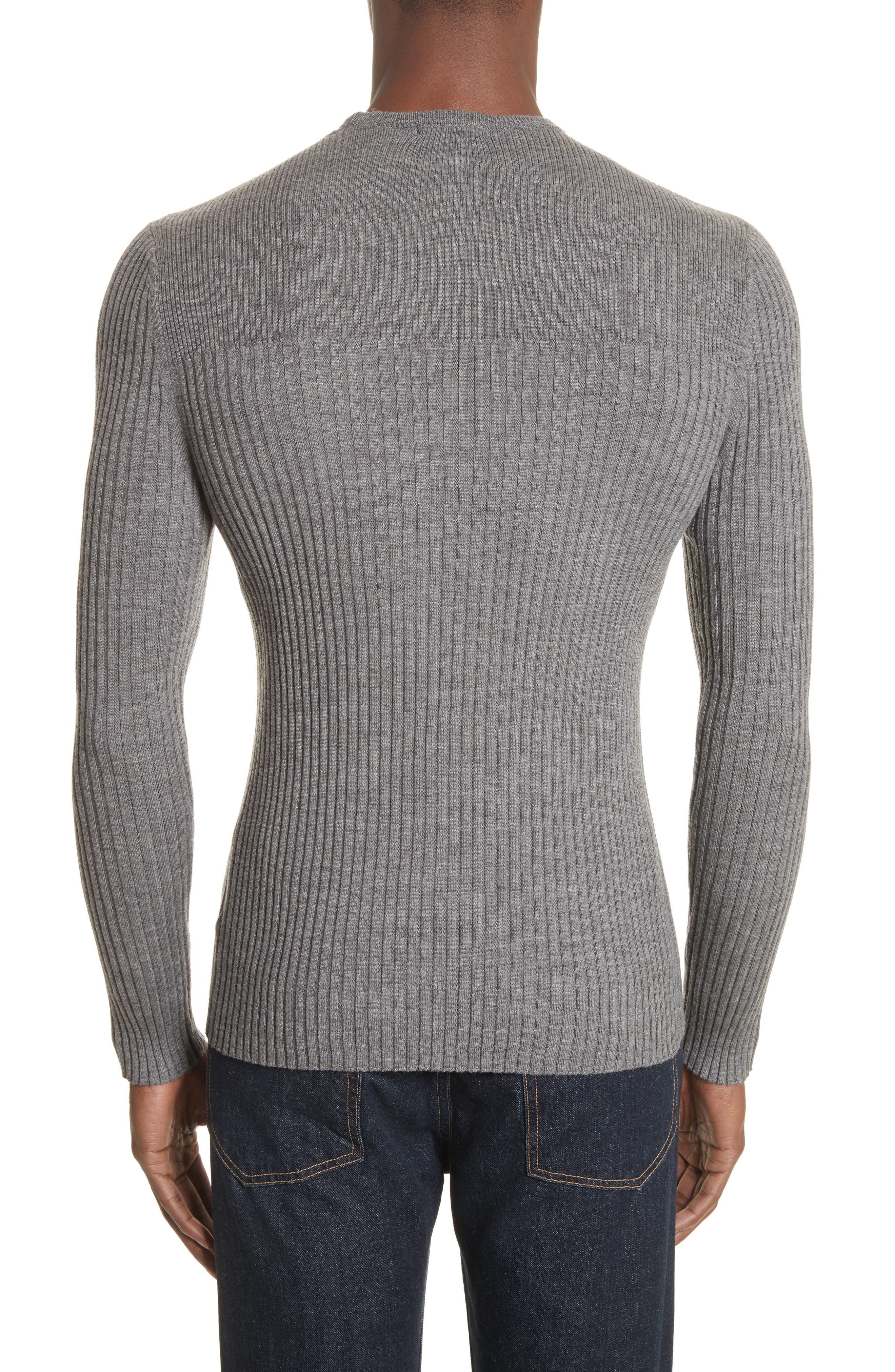Merino Wool Sweater,                             Alternate thumbnail 2, color,                             030
