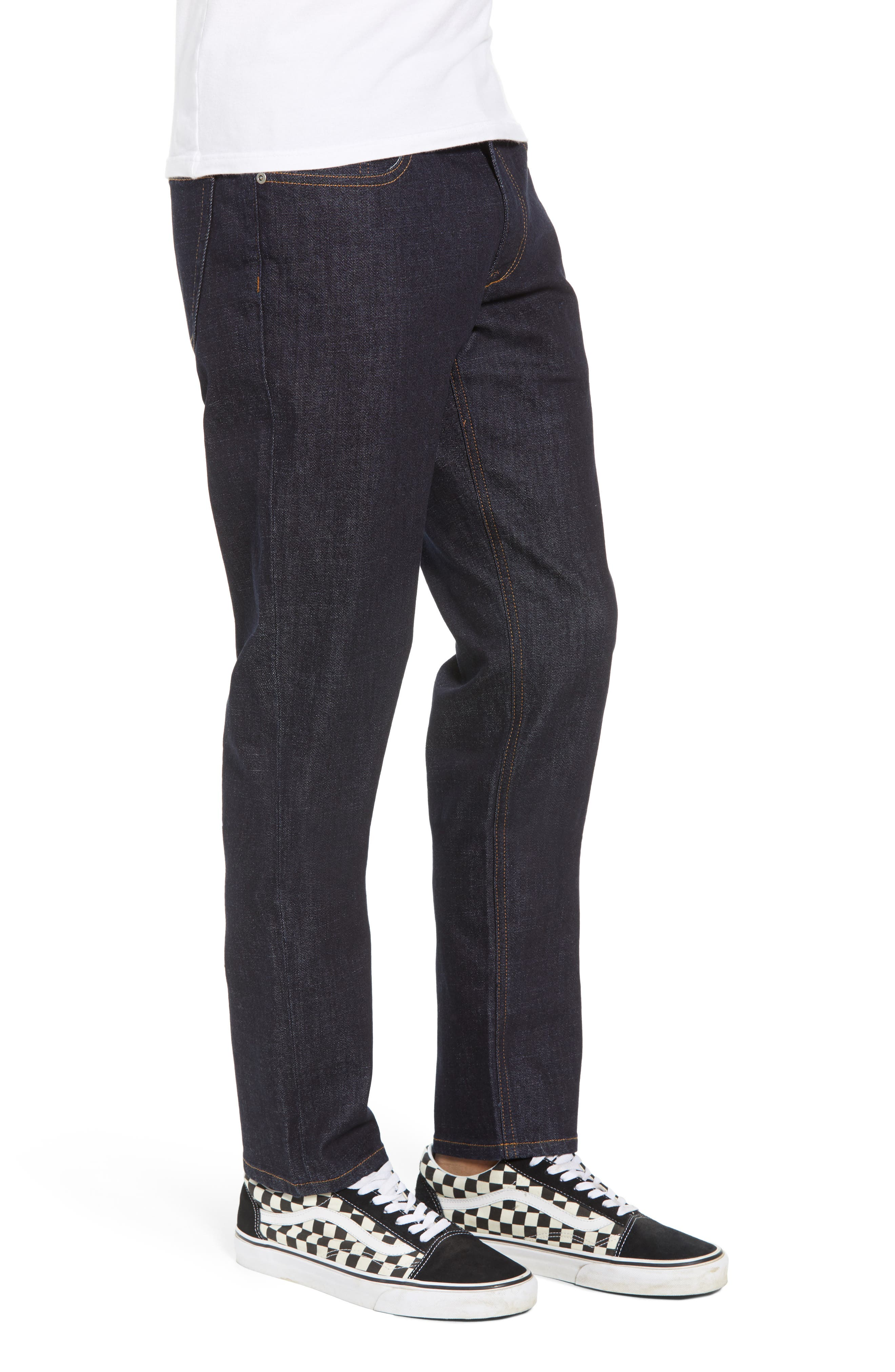 Stretch Slim Leg Jeans,                             Alternate thumbnail 3, color,                             BLUE PERRY WASH