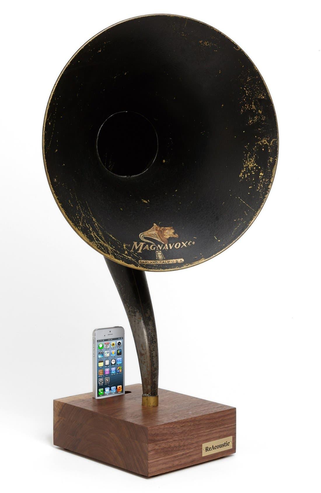 Vintage Gramophone Acoustic iPhone Speaker Dock,                             Alternate thumbnail 2, color,                             200