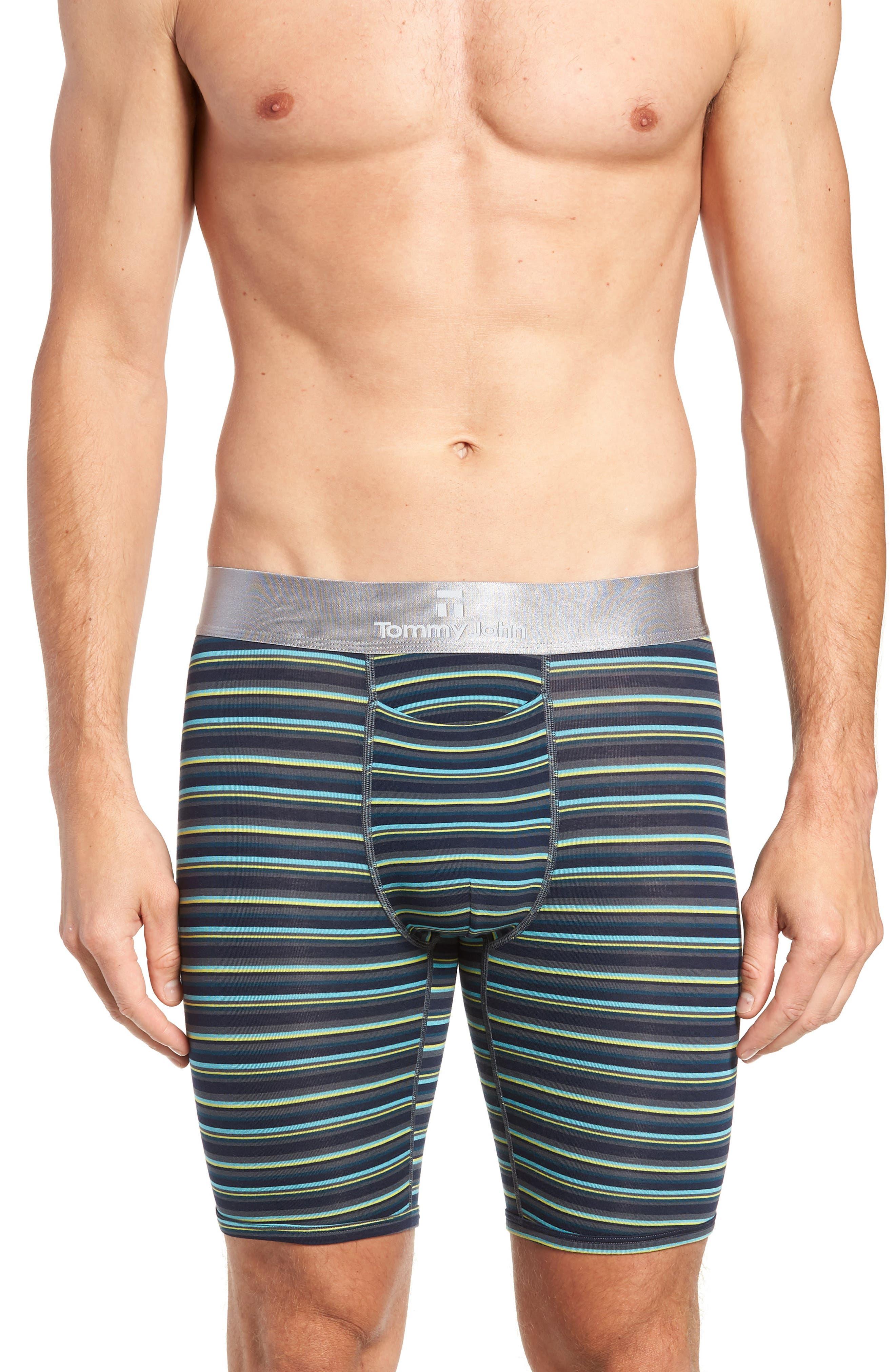 Second Skin Boxer Briefs,                         Main,                         color, DRESS BLUES/ TURBULENCE