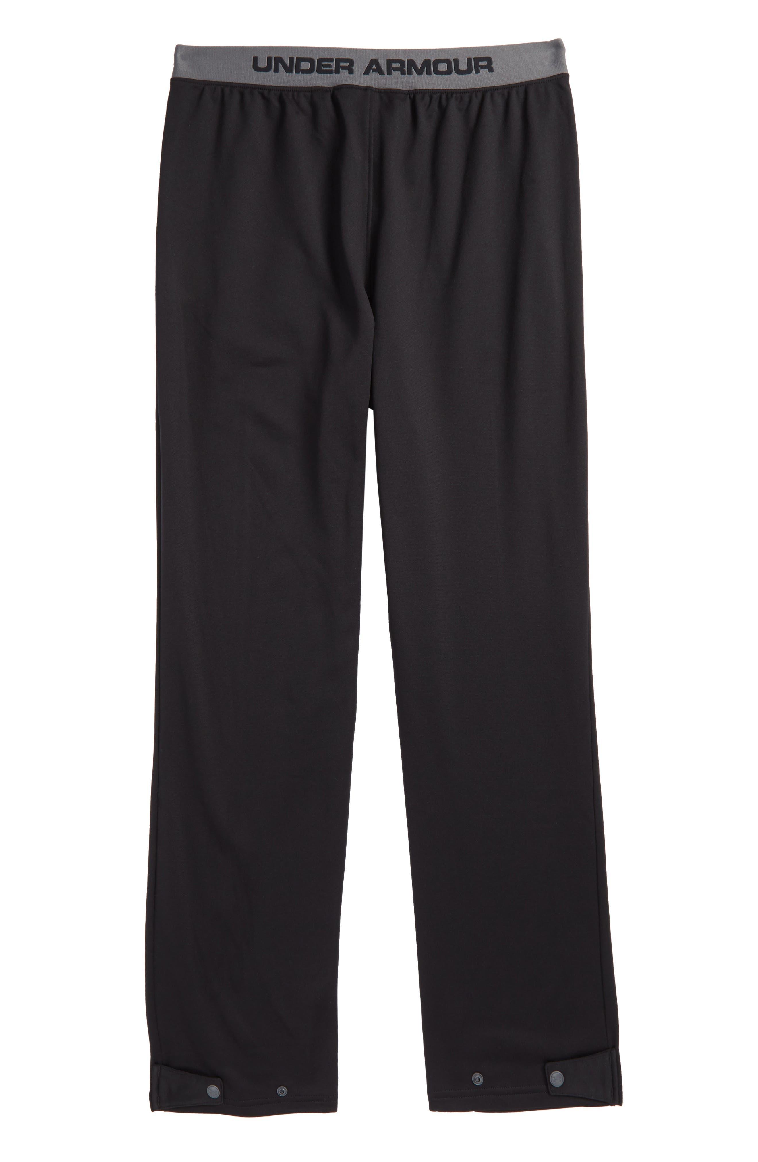 UNDER ARMOUR,                             Brawler Slim Sweatpants,                             Alternate thumbnail 2, color,                             001