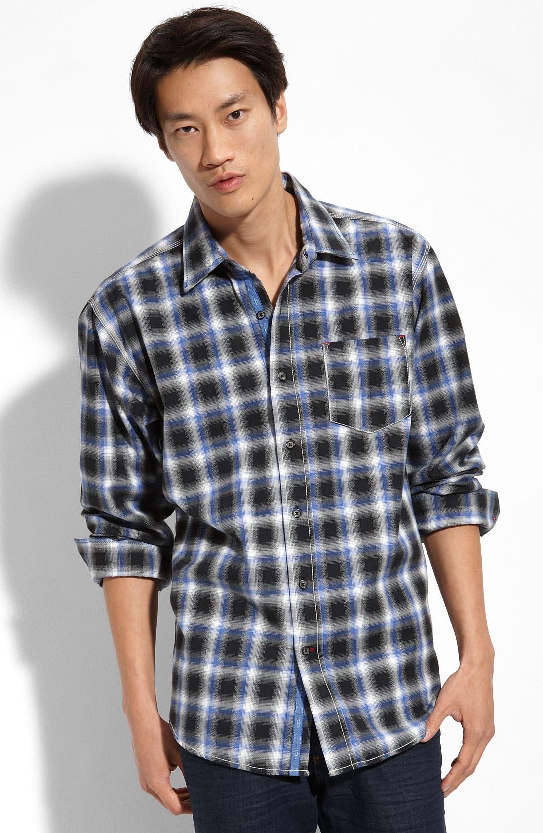 Plaid Shirt,                             Main thumbnail 1, color,                             019