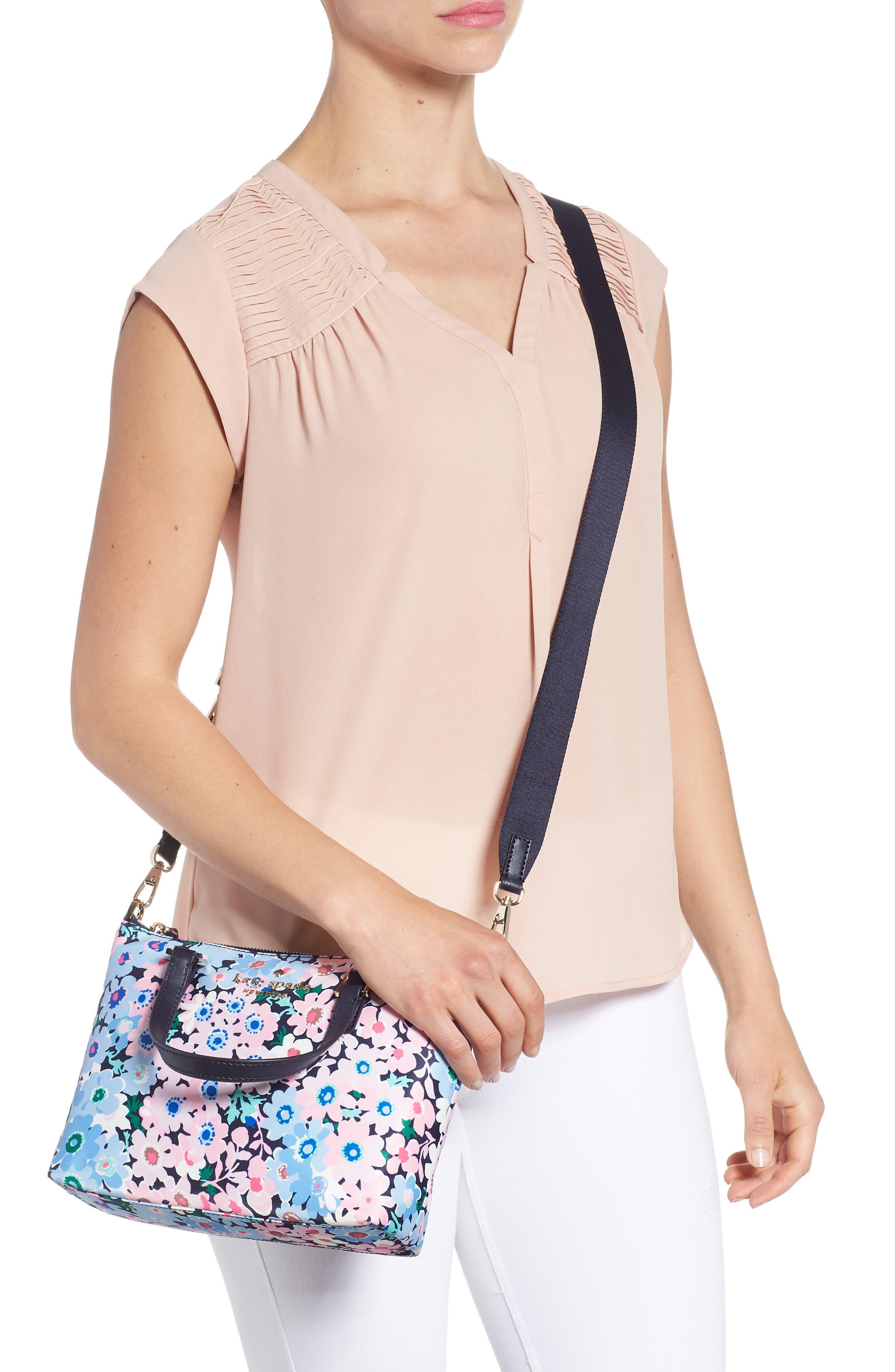 watson lane - daisy garden lucie crossbody bag,                             Alternate thumbnail 2, color,