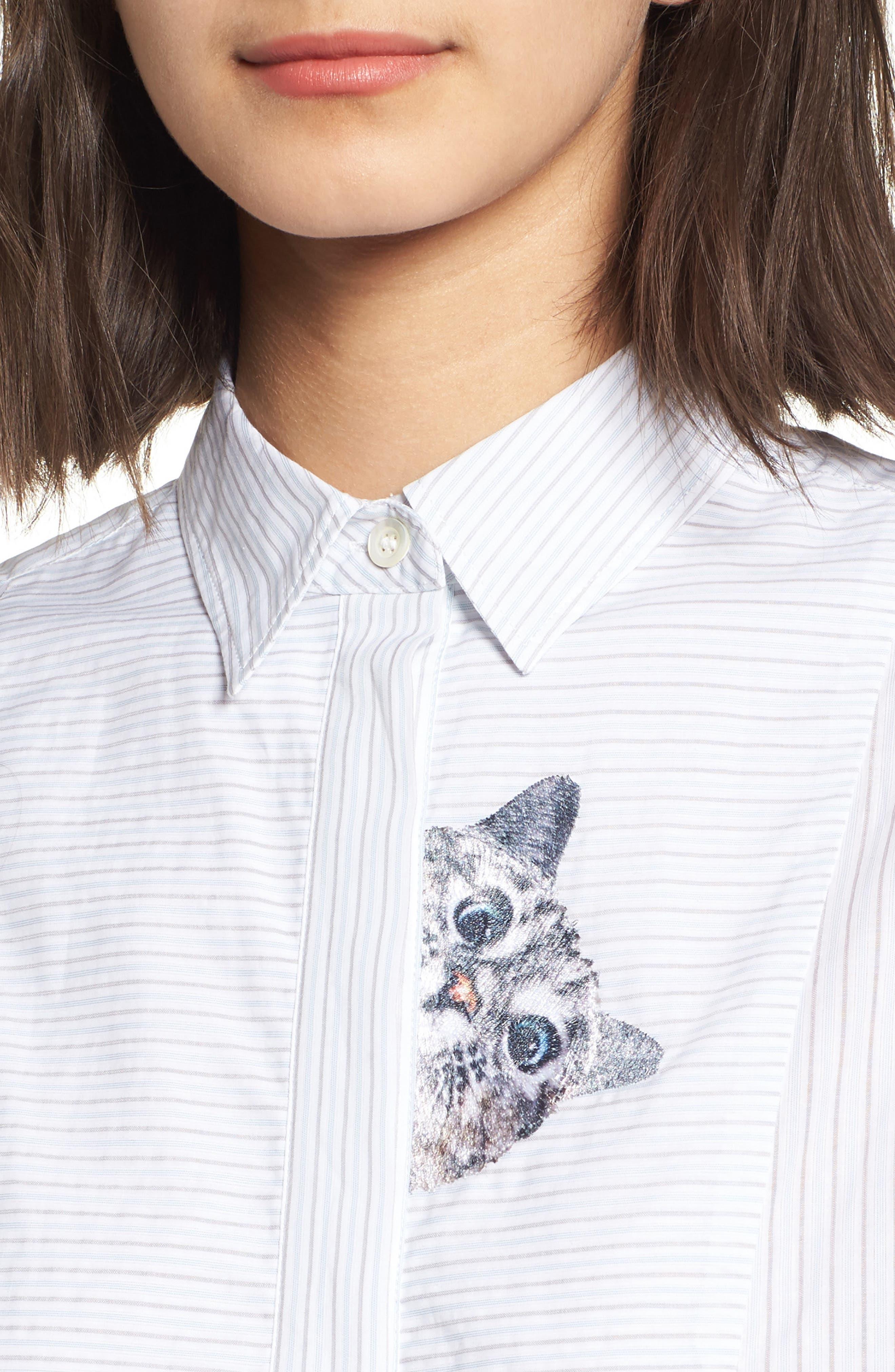 Babines Shirt,                             Alternate thumbnail 4, color,
