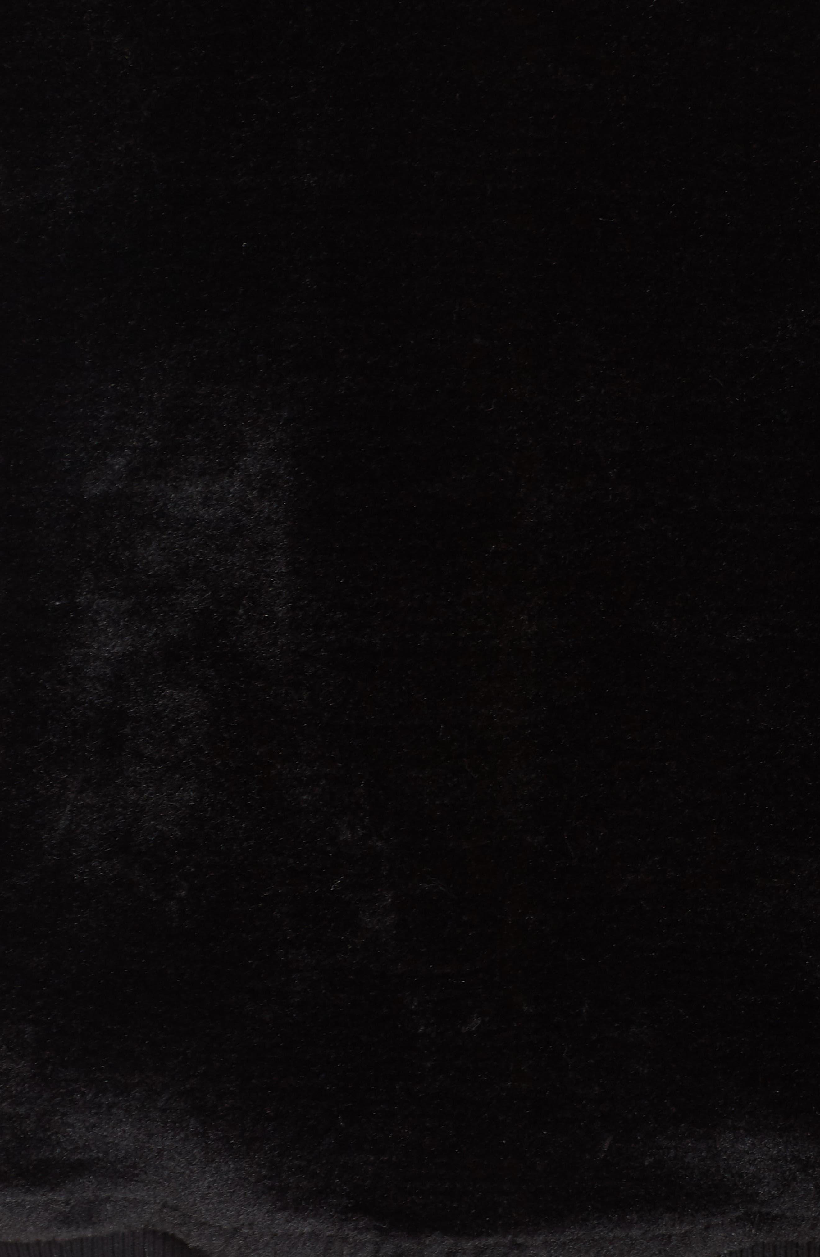 Kailani High Pile Fleece Hoodie,                             Alternate thumbnail 6, color,                             BLACK