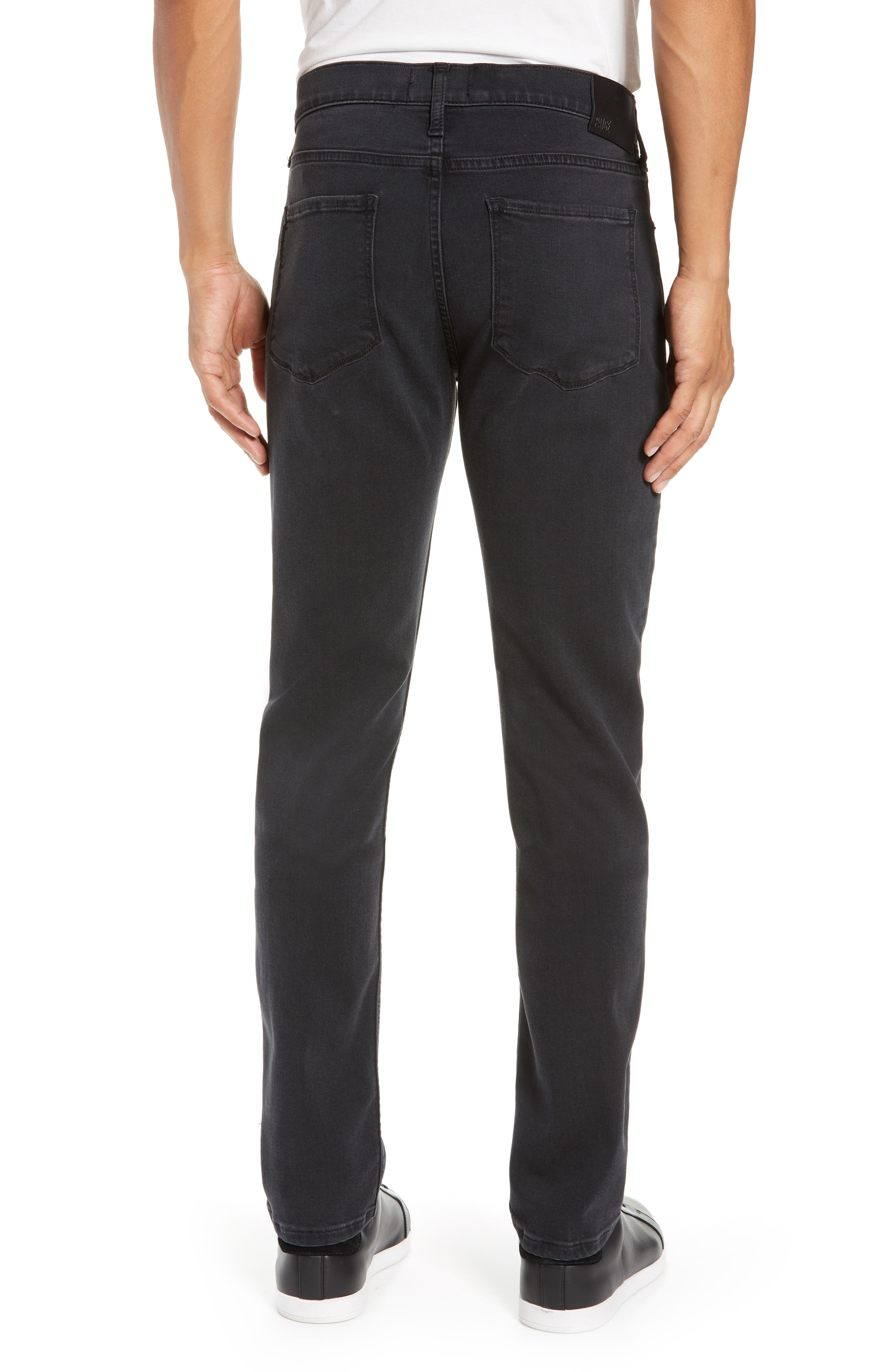 Transcend Lennox Slim Fit Jeans,                             Alternate thumbnail 2, color,                             KNOLL