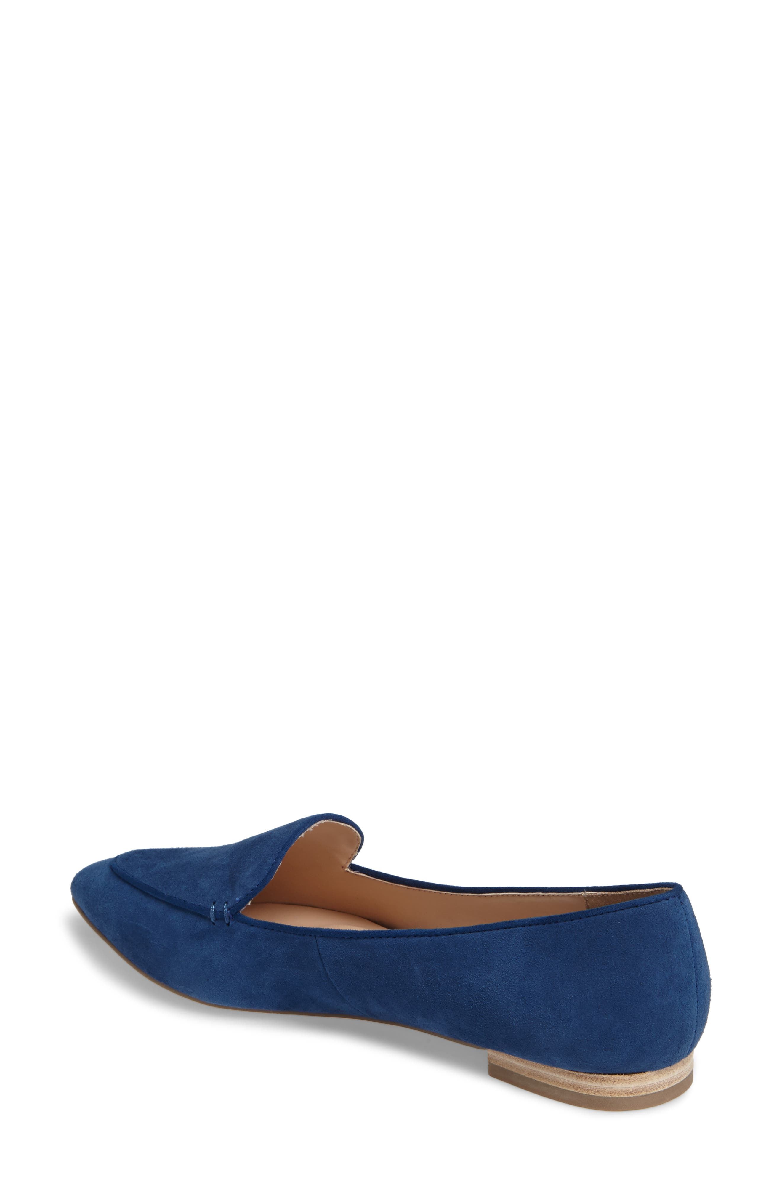'Cammila' Pointy Toe Loafer,                             Alternate thumbnail 13, color,