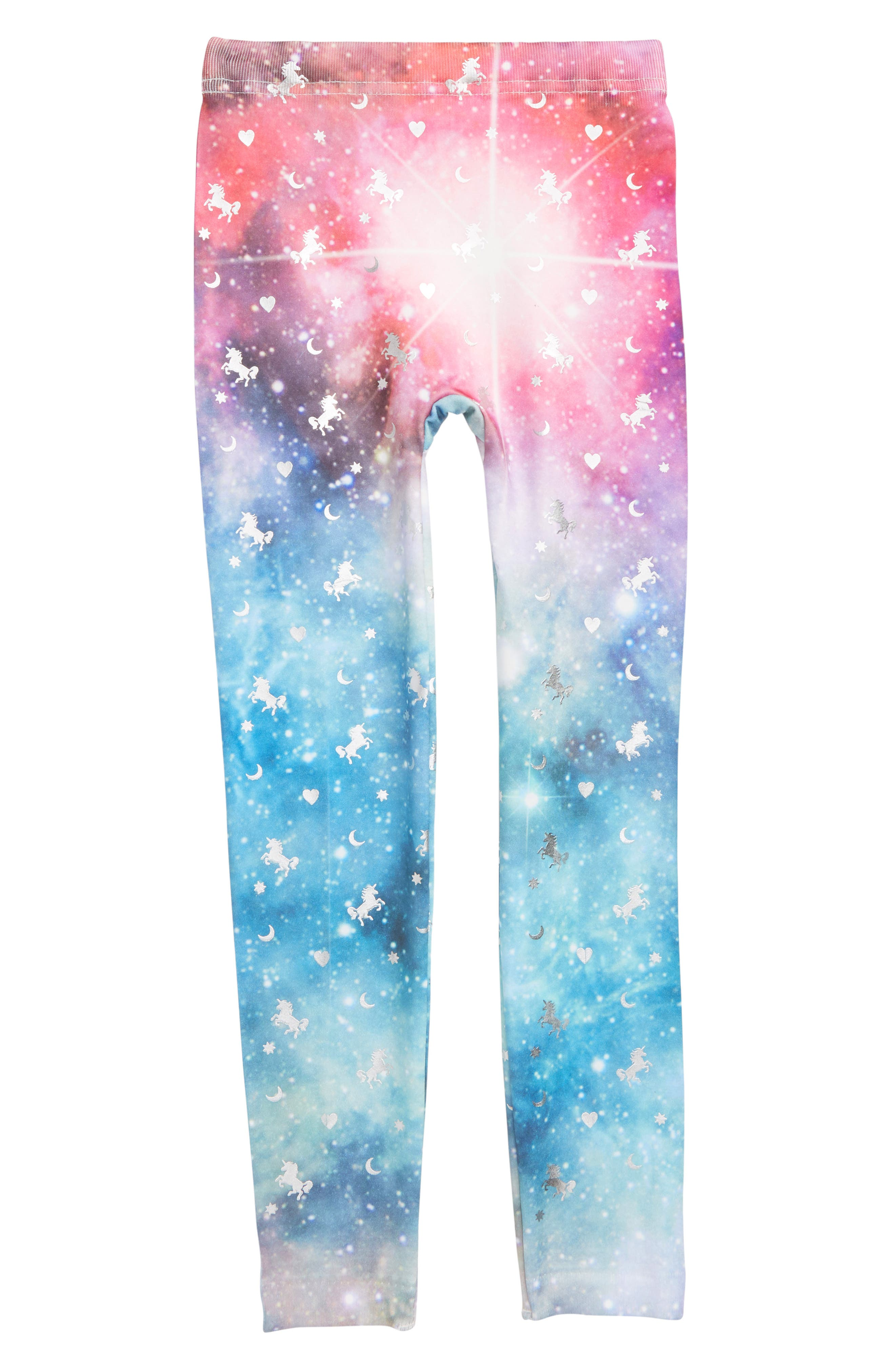 Space Unicorns Leggings,                         Main,                         color, 020