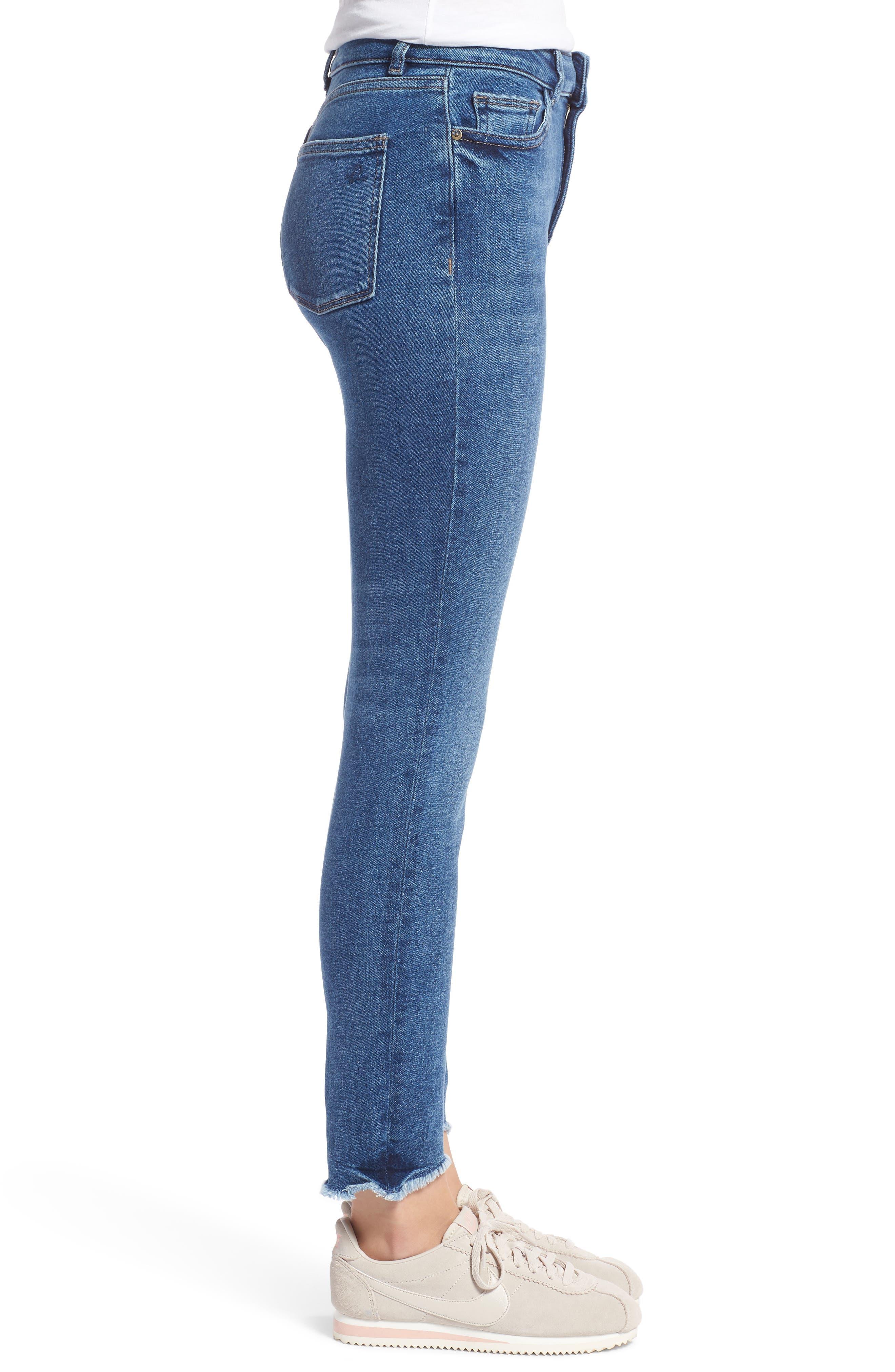 Farrow High Waist Skinny Jeans,                             Alternate thumbnail 3, color,                             422