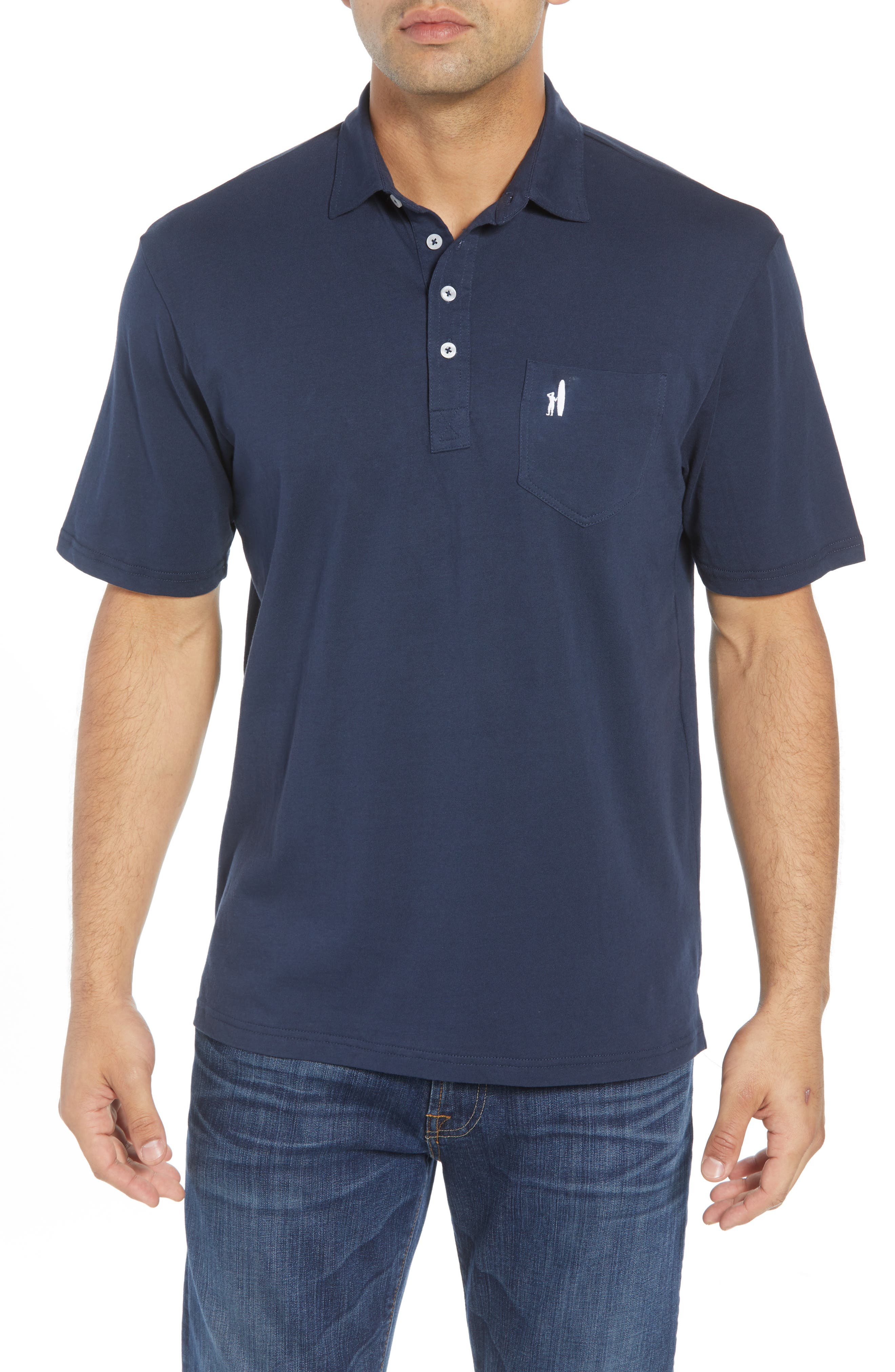 The Original Classic Fit Polo,                             Main thumbnail 1, color,                             NAVY