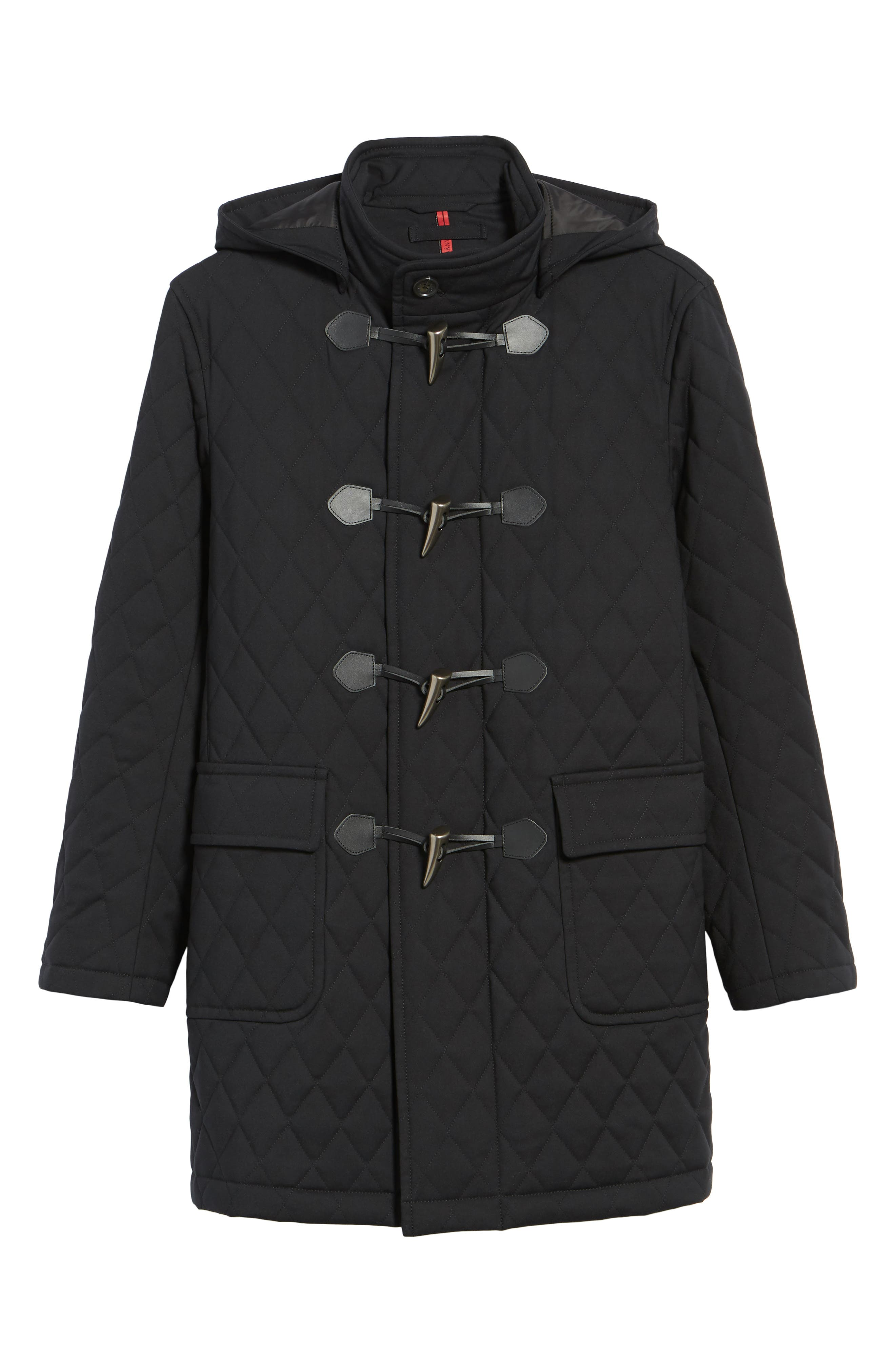 Francisco Quilted Duffle Coat,                             Alternate thumbnail 5, color,                             009