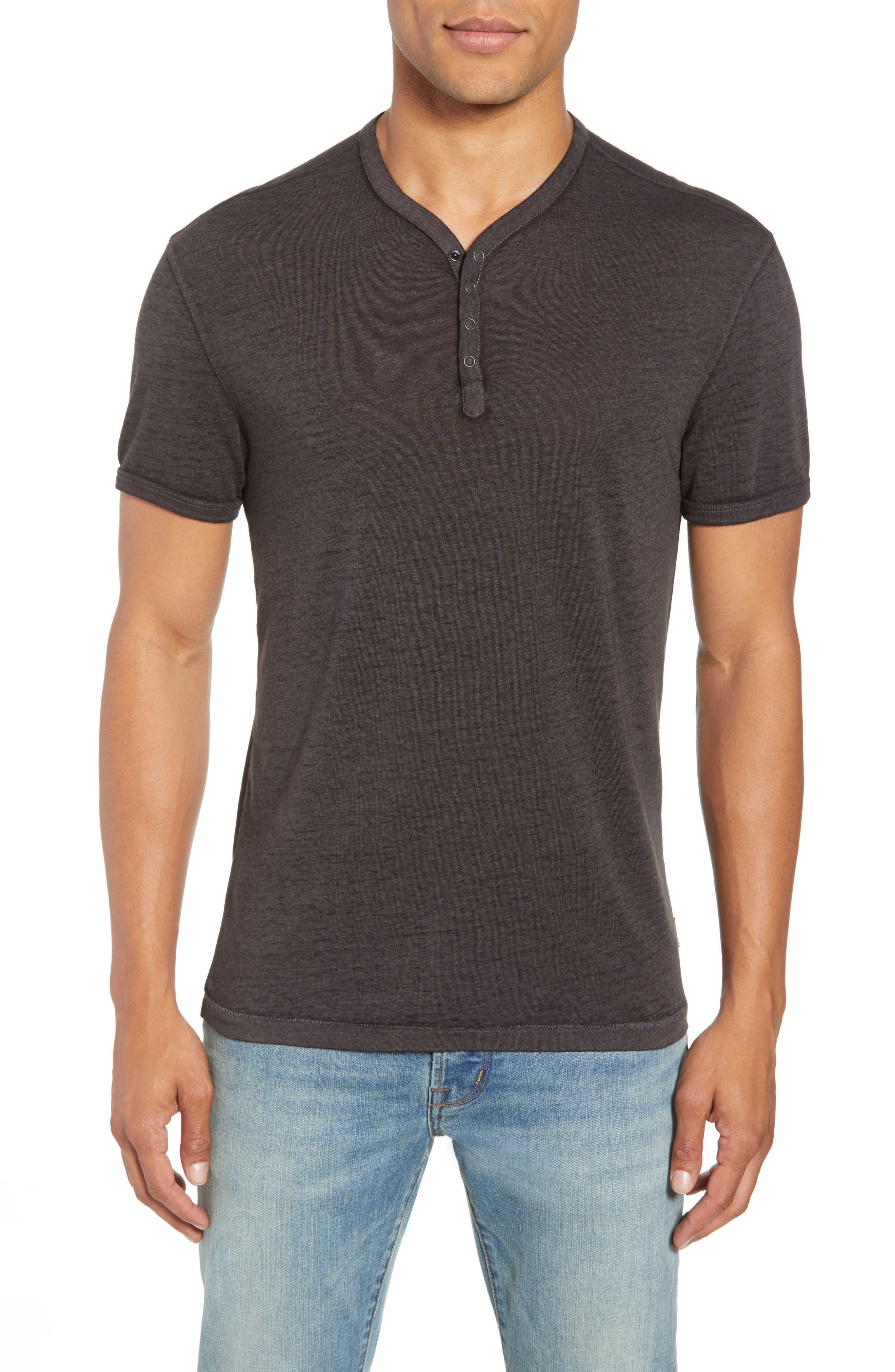 Burnout Henley T-Shirt,                         Main,                         color, 020