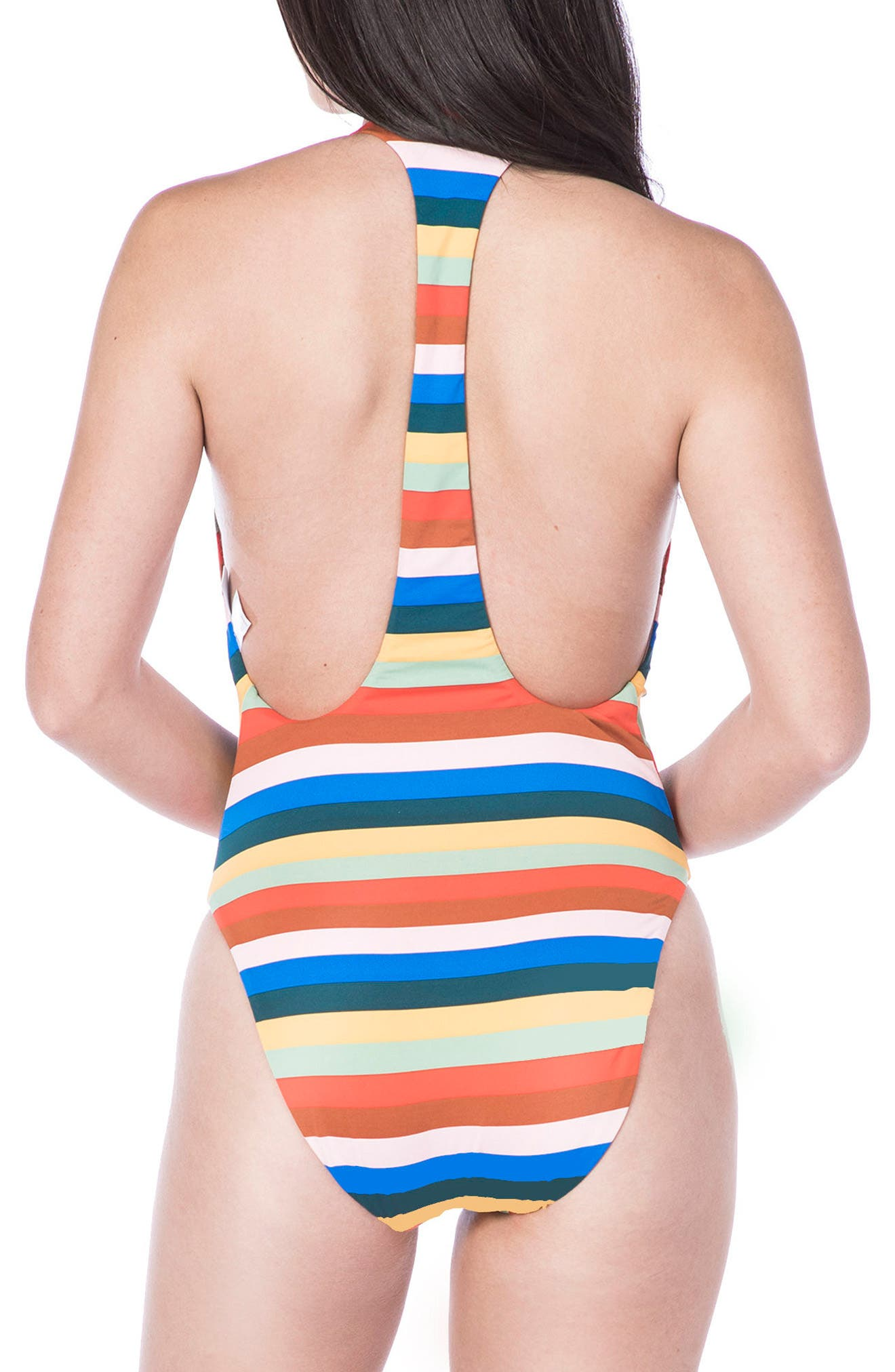 Palm Springs One-Piece Swimsuit,                             Alternate thumbnail 2, color,                             608