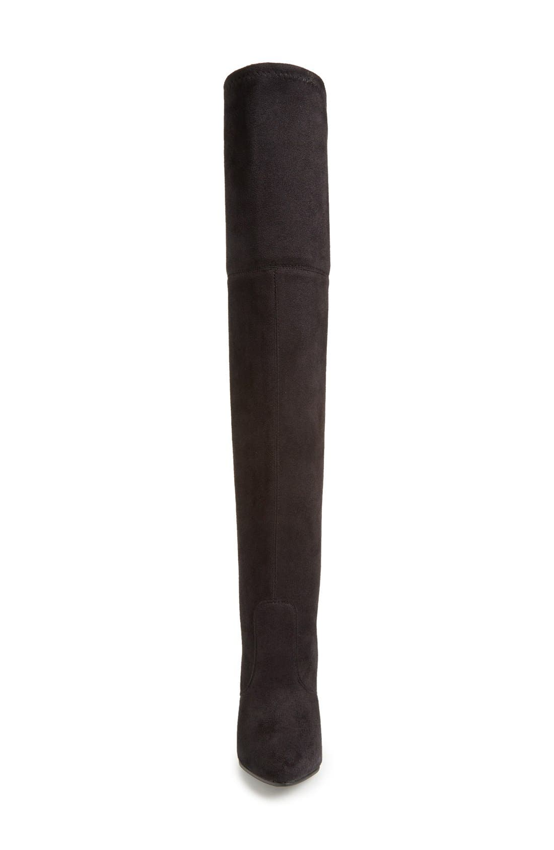 'Rocking' Over the Knee Boot,                             Alternate thumbnail 3, color,                             001