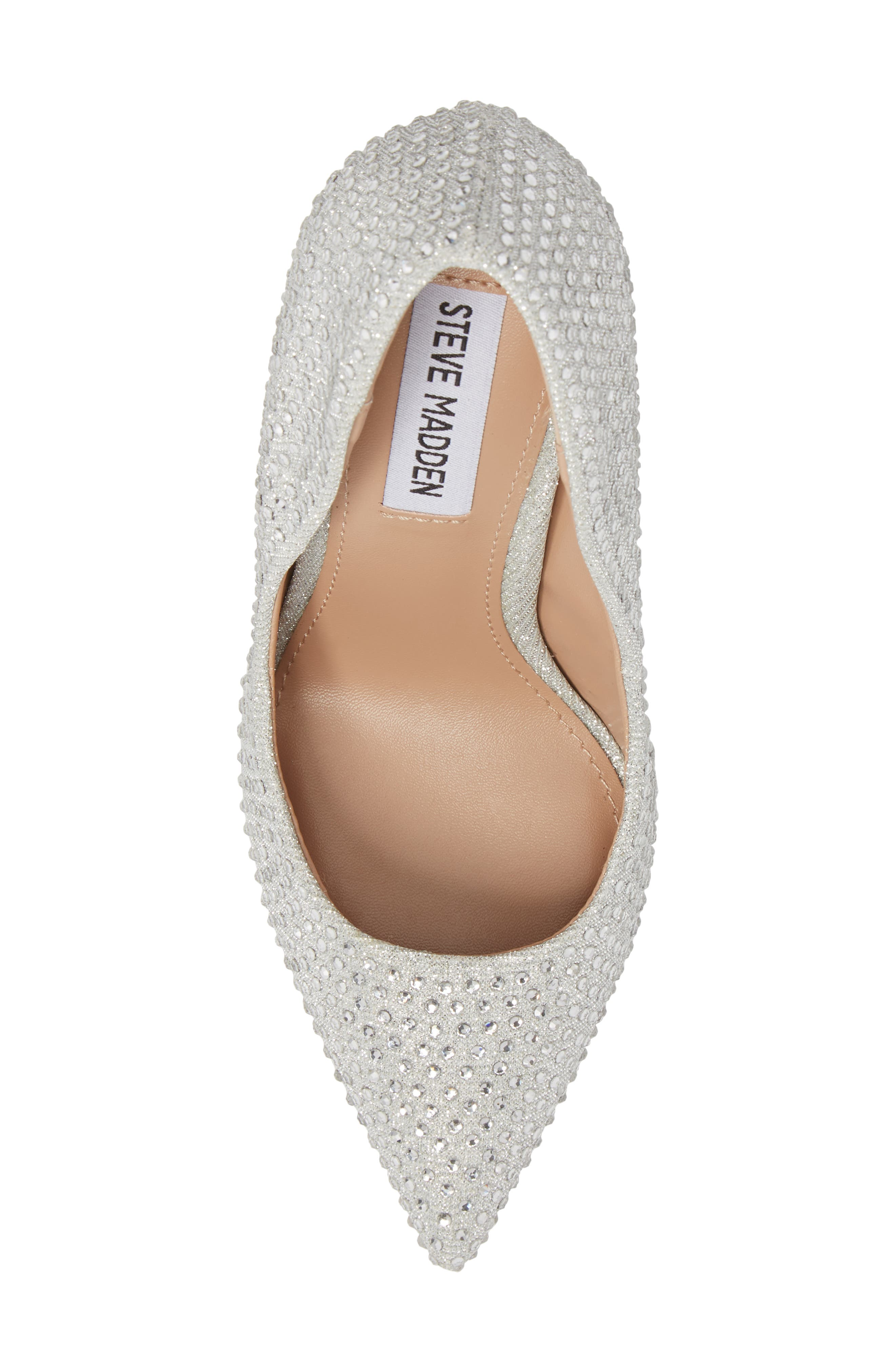 Daisie Pointy-Toe Pump,                             Alternate thumbnail 5, color,                             SILVER