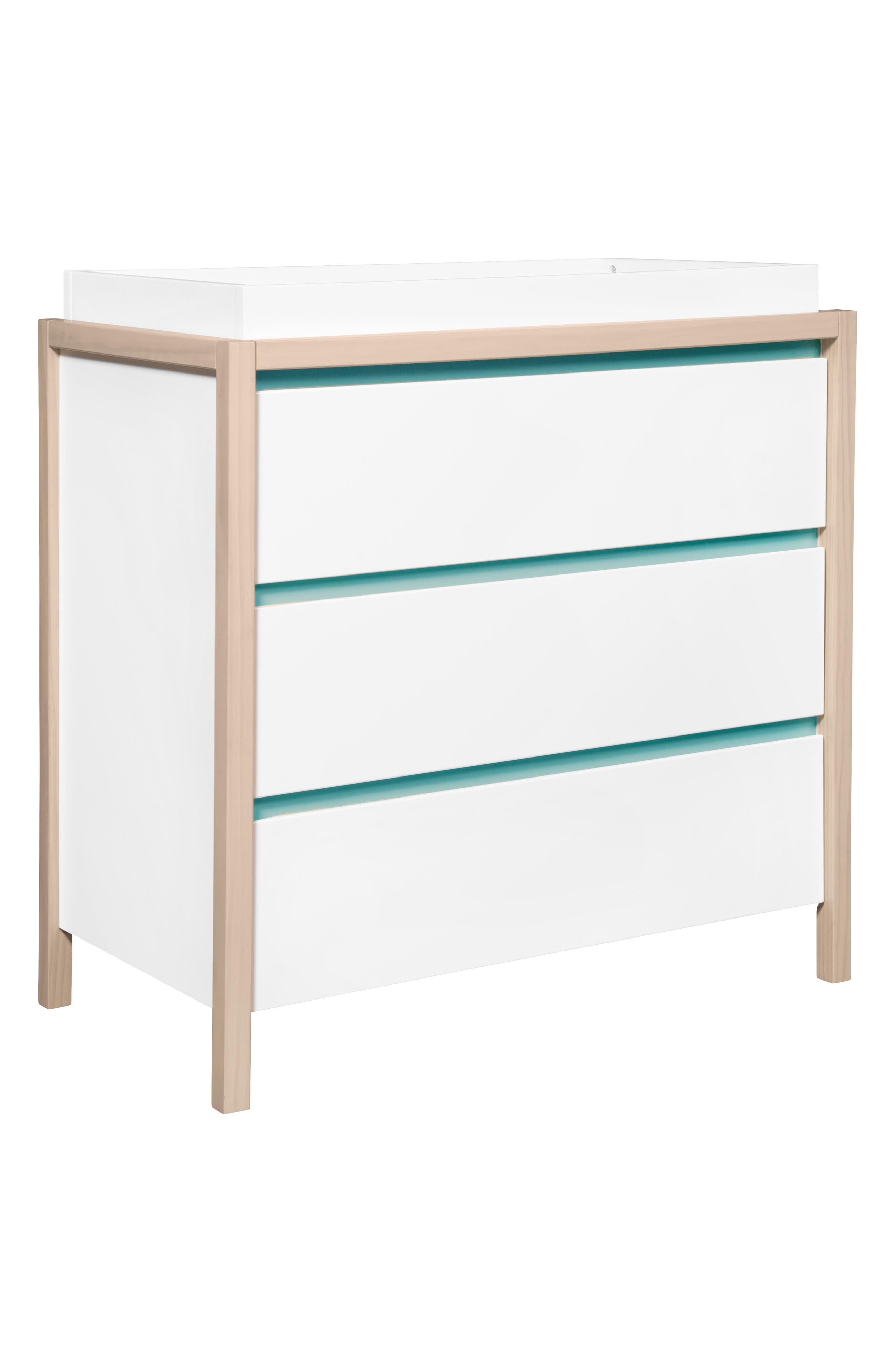 'Bingo' Three Drawer Changer Dresser,                             Alternate thumbnail 4, color,