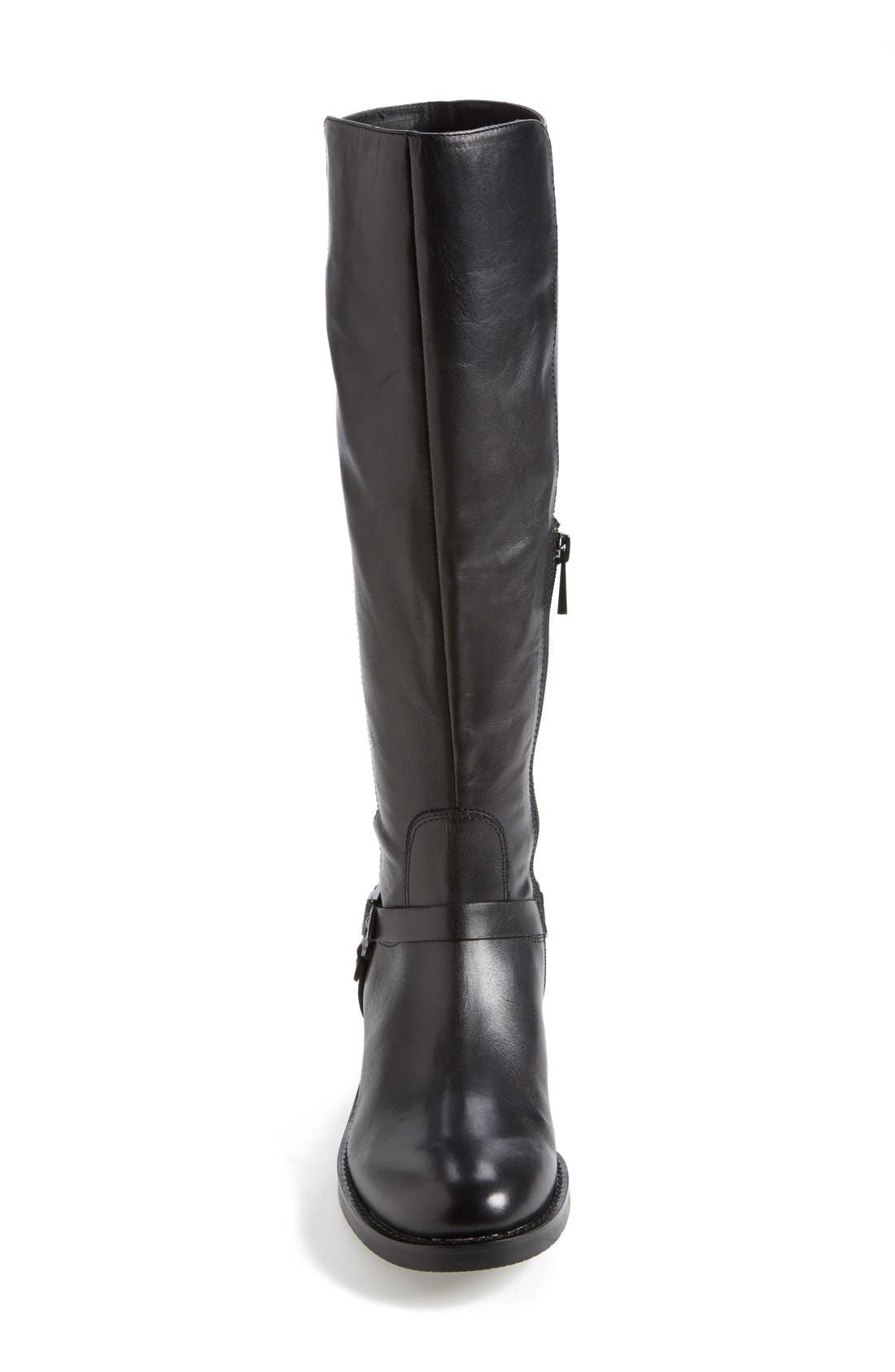 VINCE CAMUTO,                             'Farren' Riding Boot,                             Alternate thumbnail 4, color,                             001