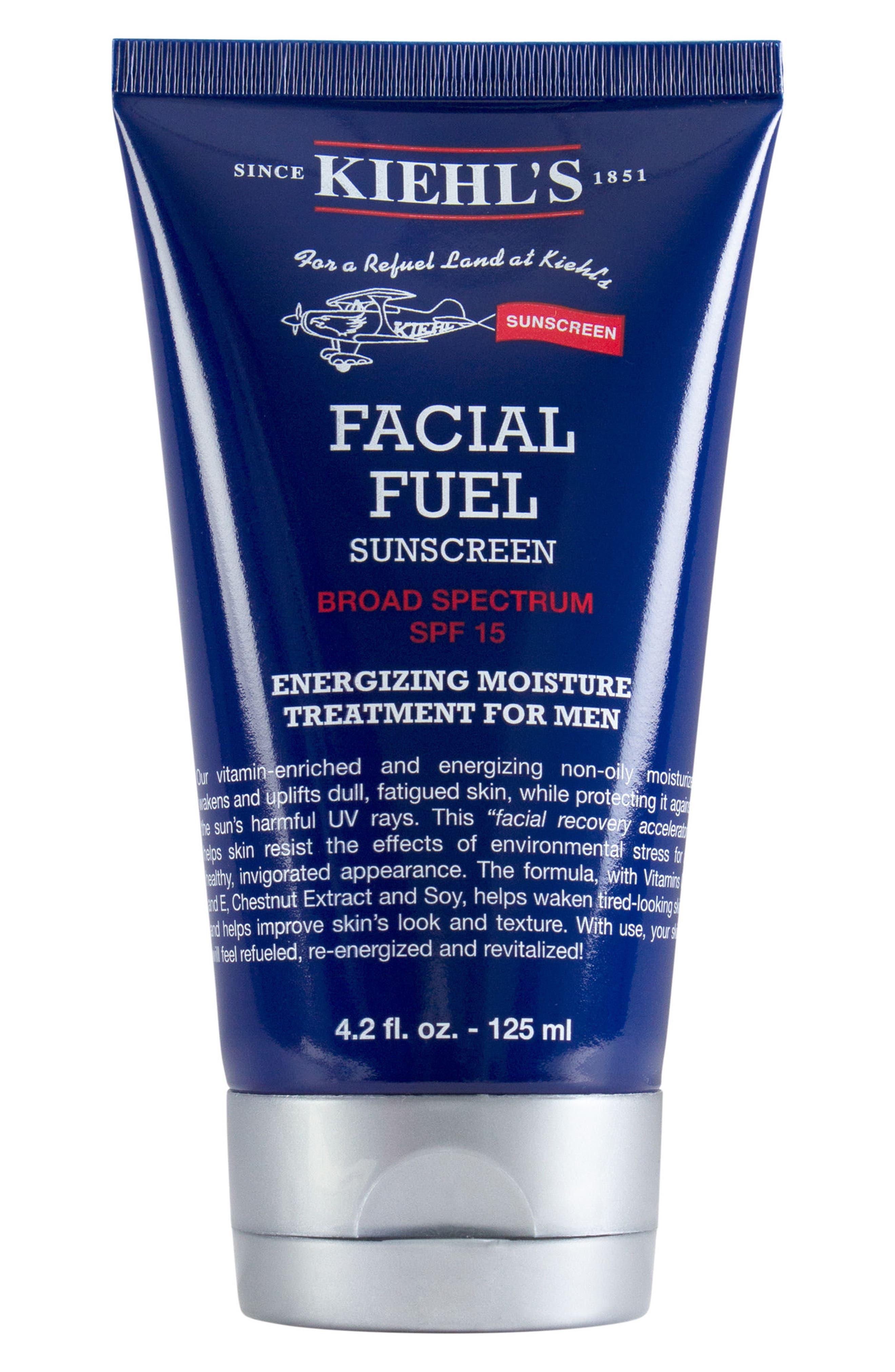 KIEHL'S SINCE 1851,                             Facial Fuel Energizing Moisture Treatment for Men SPF 15,                             Main thumbnail 1, color,                             000
