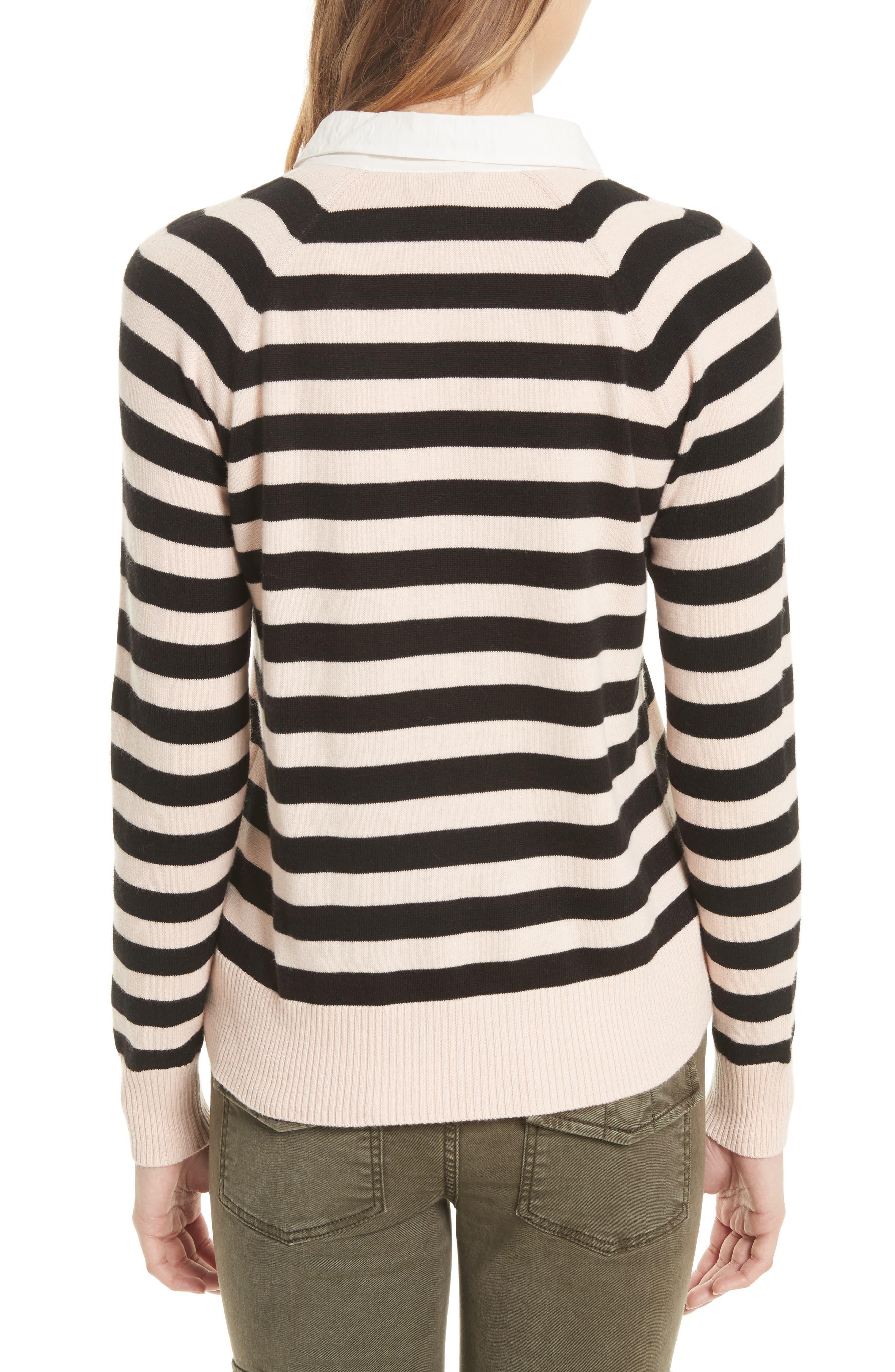 Gabbe Stripe Sweater,                             Alternate thumbnail 2, color,                             008