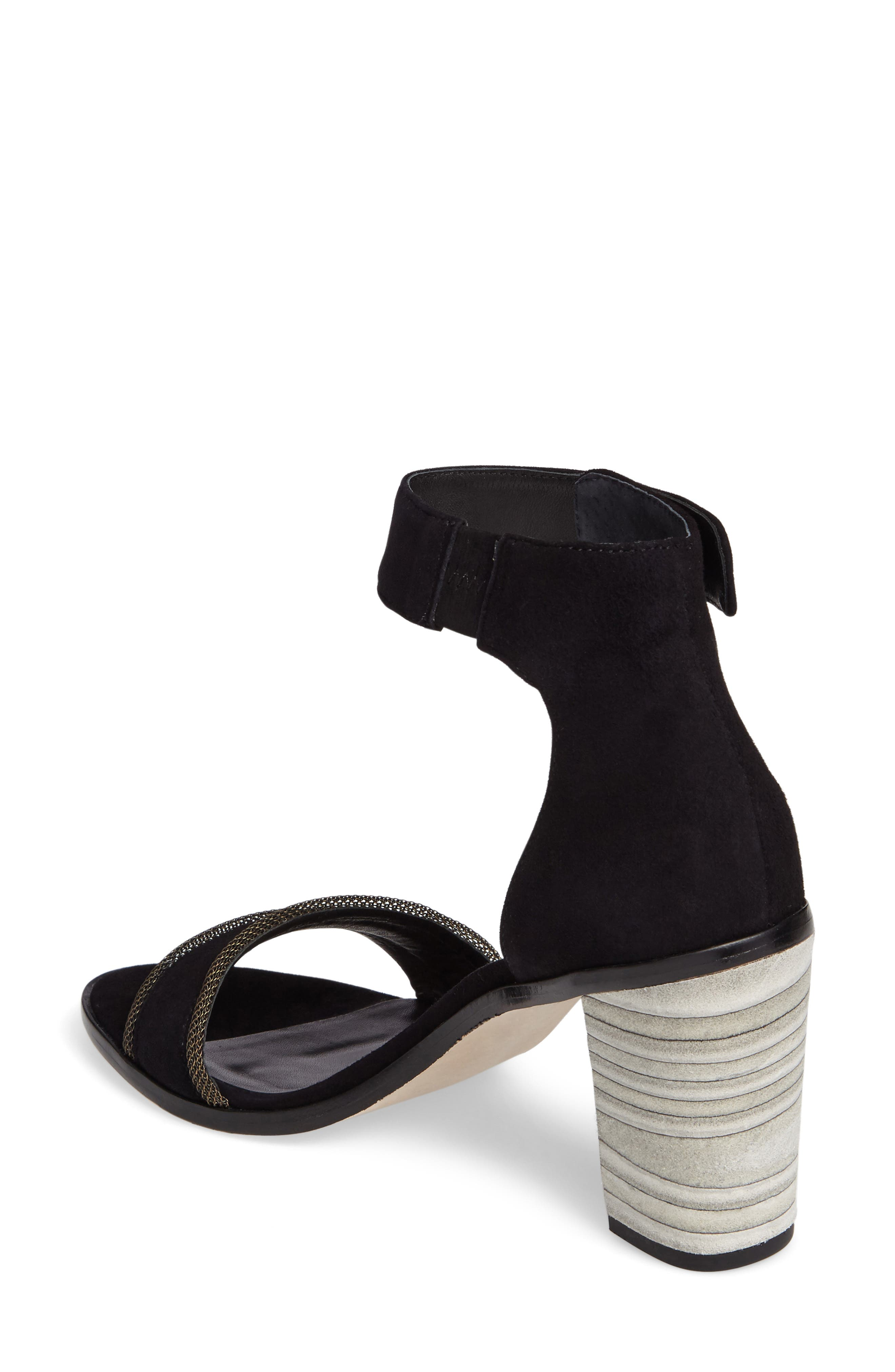Bernardo Hayden Ankle Strap Sandal,                             Alternate thumbnail 2, color,                             001