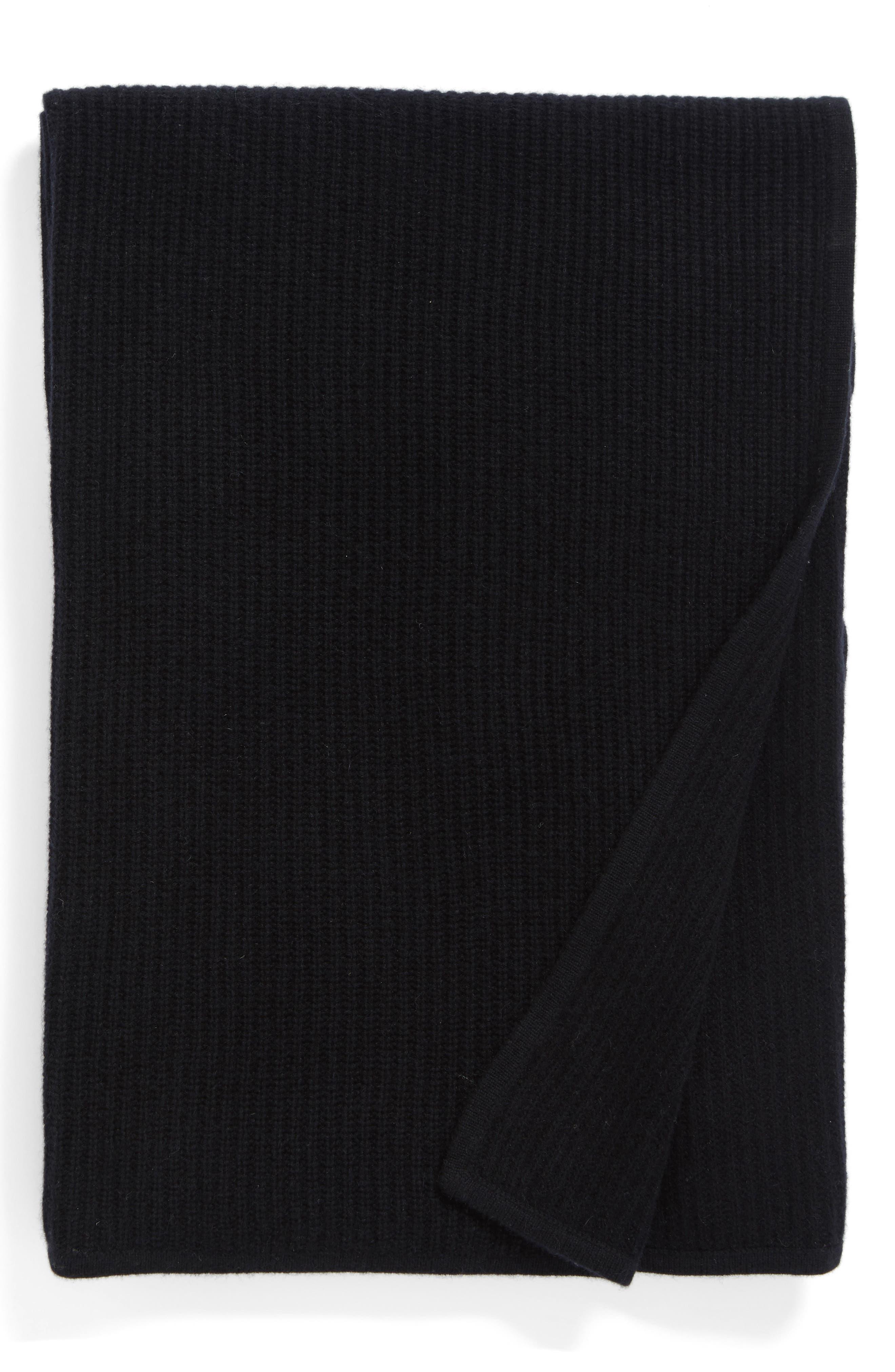 Lattice Cashmere Throw Blanket, Main, color, 001