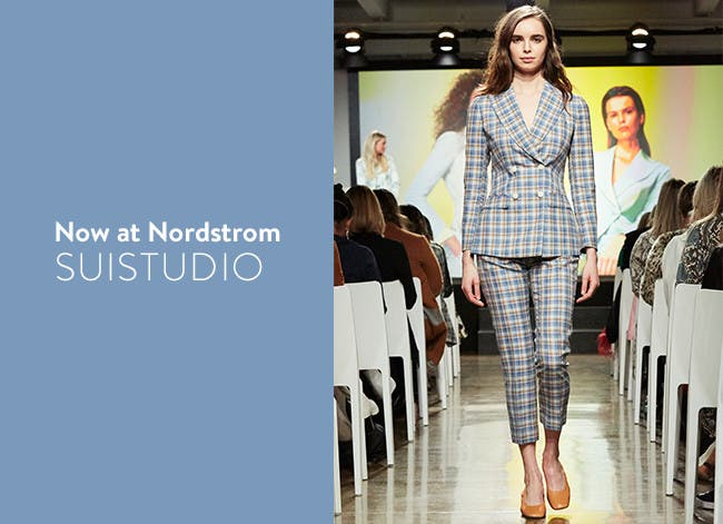 Now at Nordstrom: SUISTUDIO.