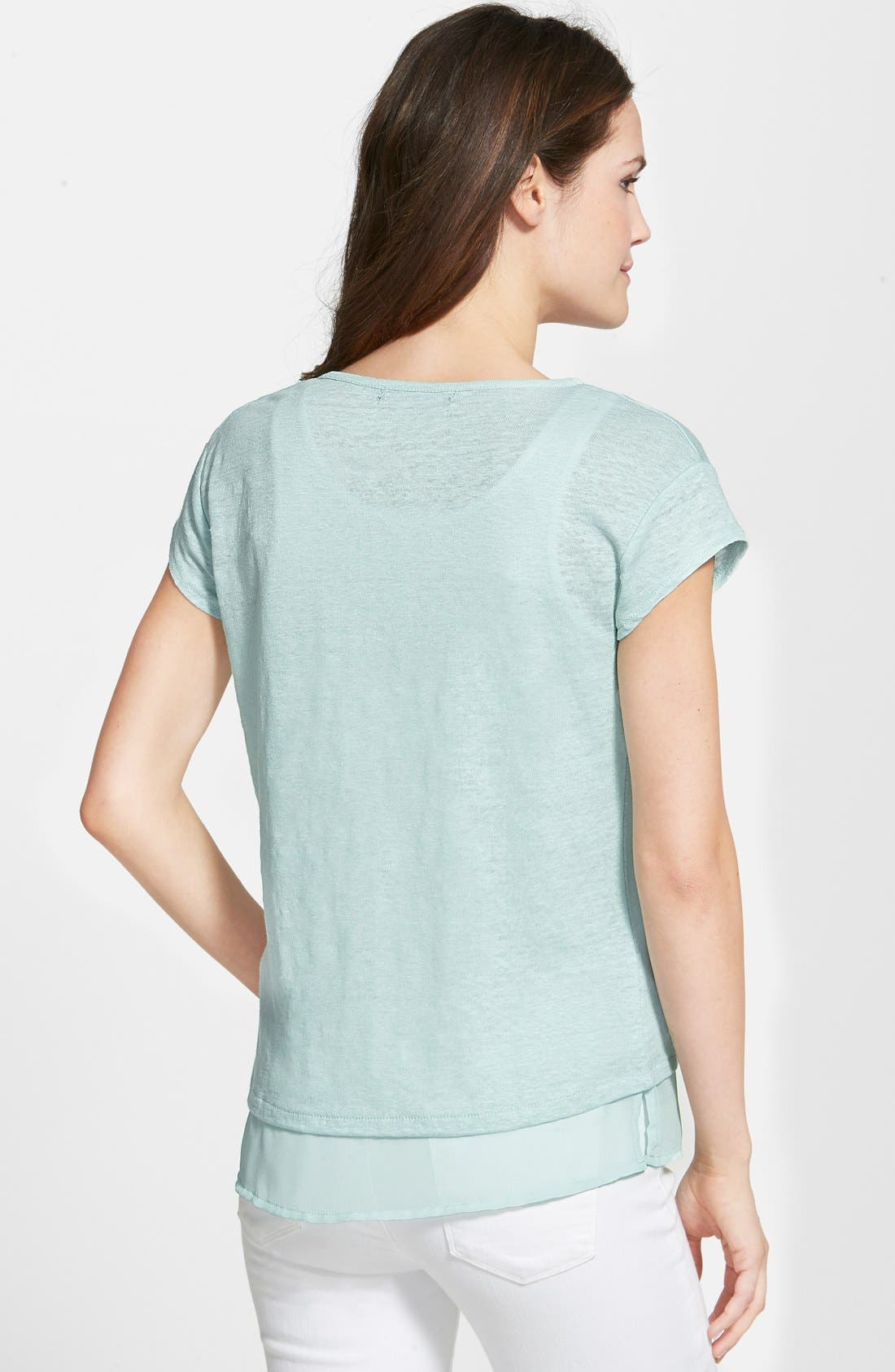 City Mix Layered Look Tee,                             Alternate thumbnail 33, color,