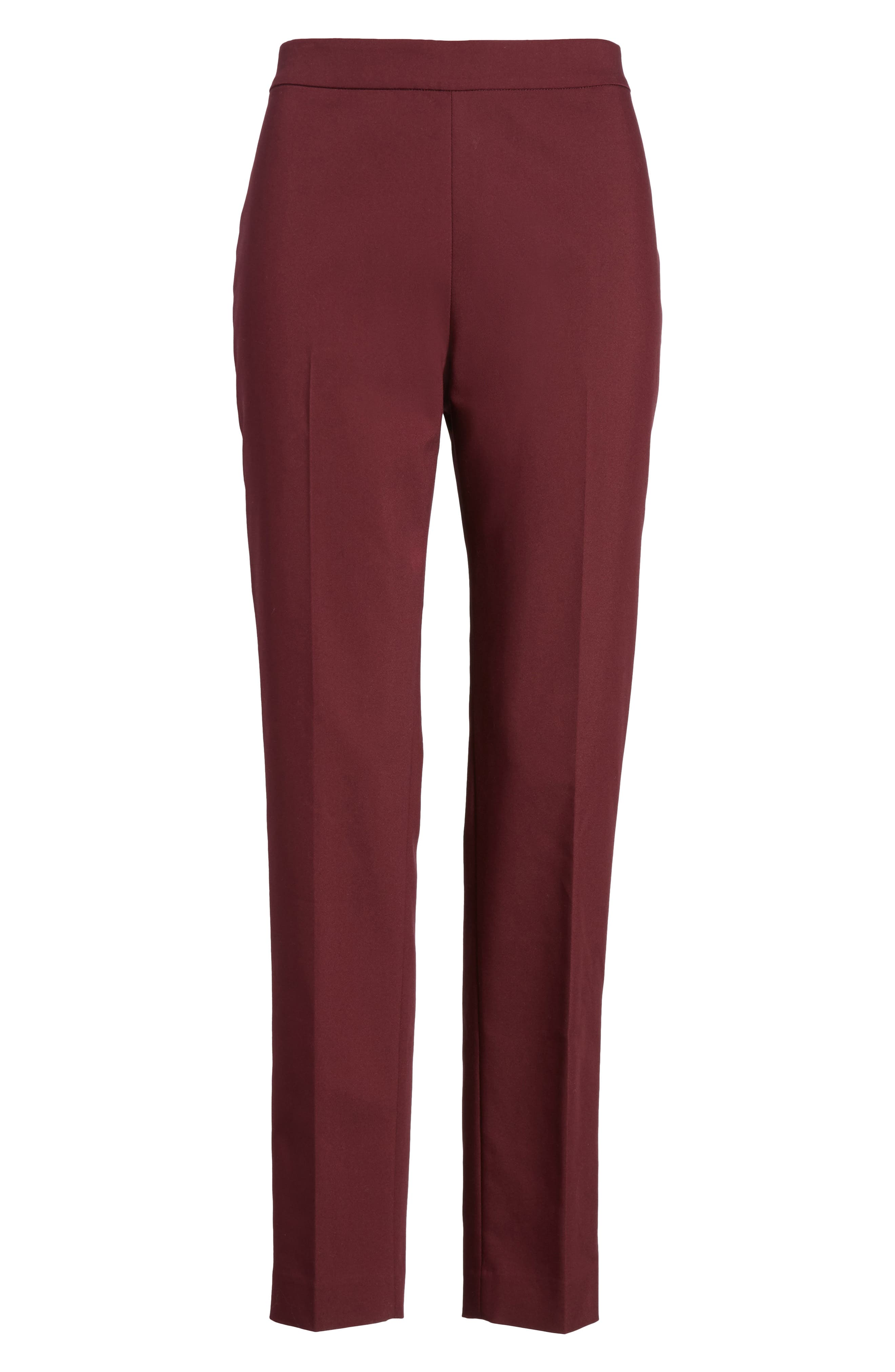 Jackie Pull-On Ankle Pants,                             Alternate thumbnail 12, color,