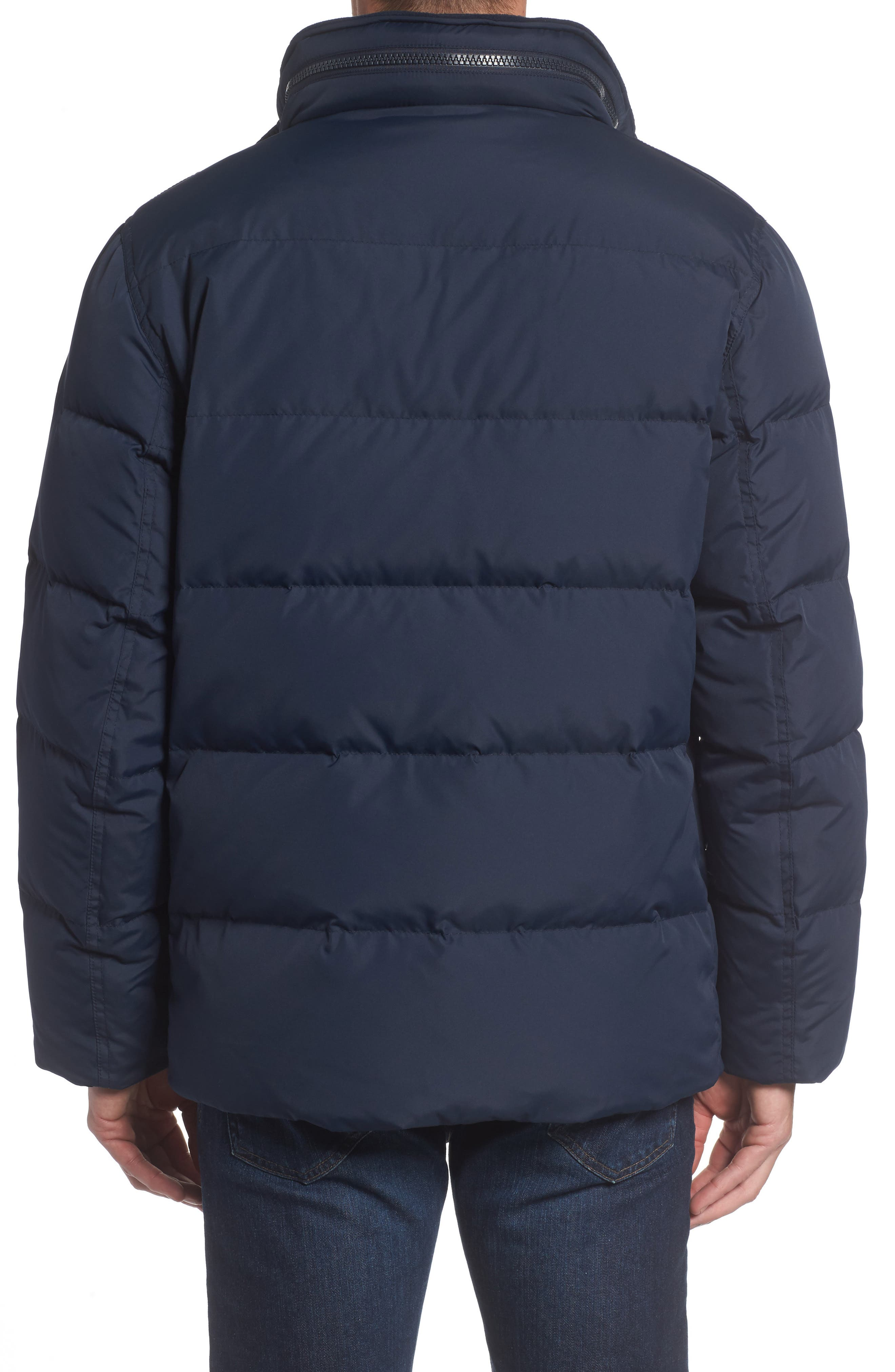 Andrew Marc Carlton Quilted Parka,                             Alternate thumbnail 8, color,