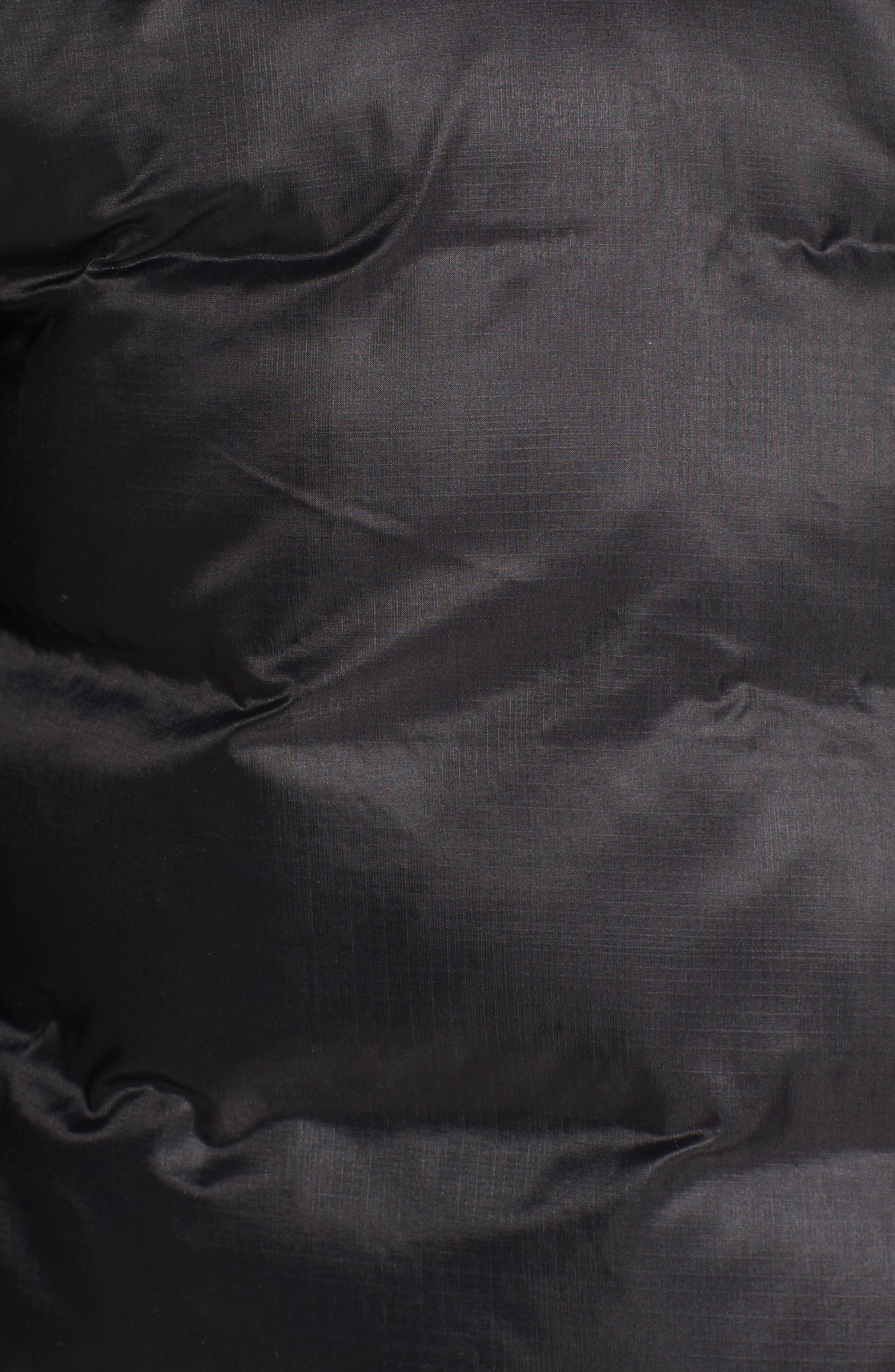'Lodge' Slim Fit Packable Jacket,                             Alternate thumbnail 8, color,                             BLACK