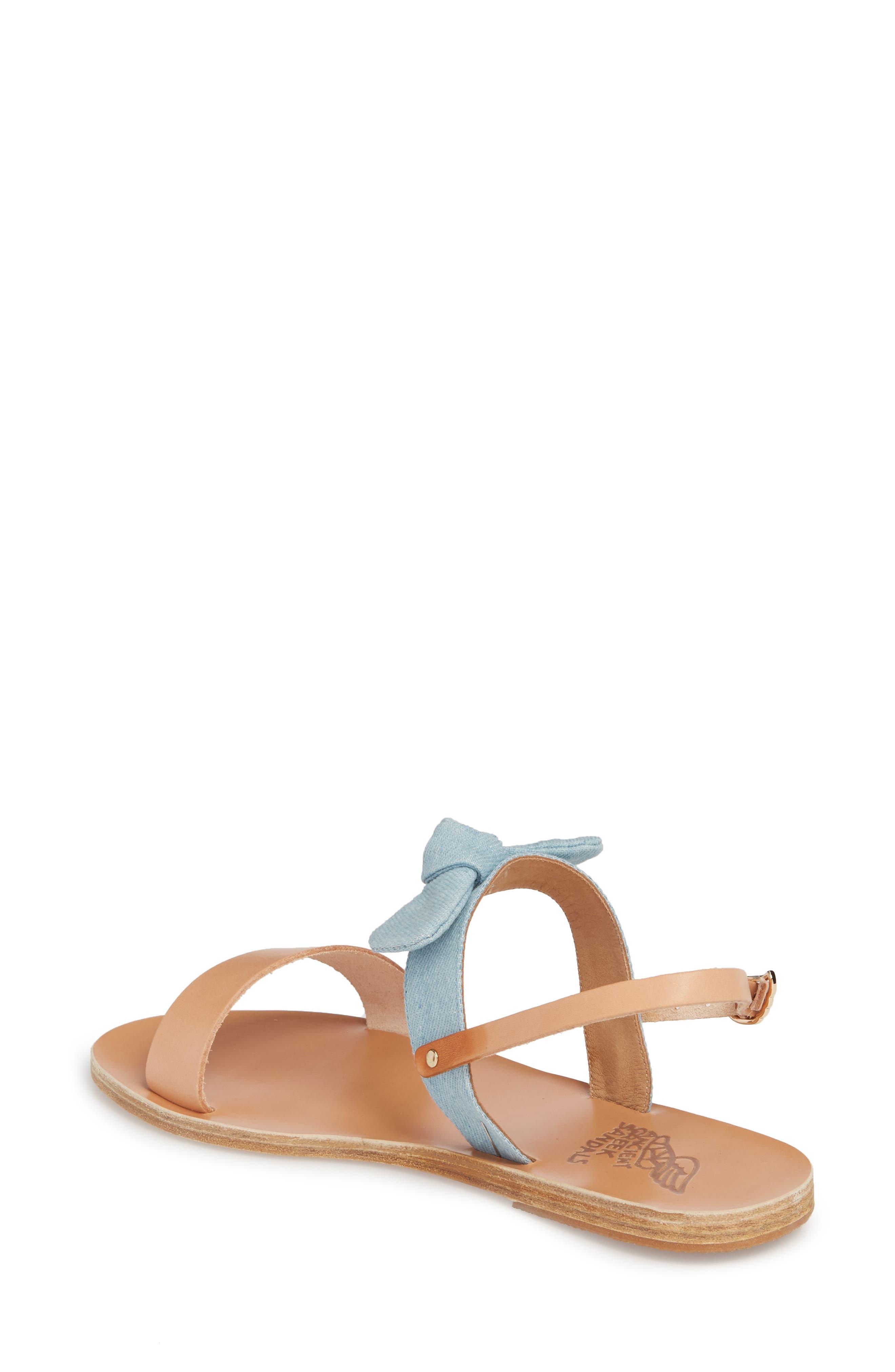 Clio Bow Sandal,                             Alternate thumbnail 2, color,