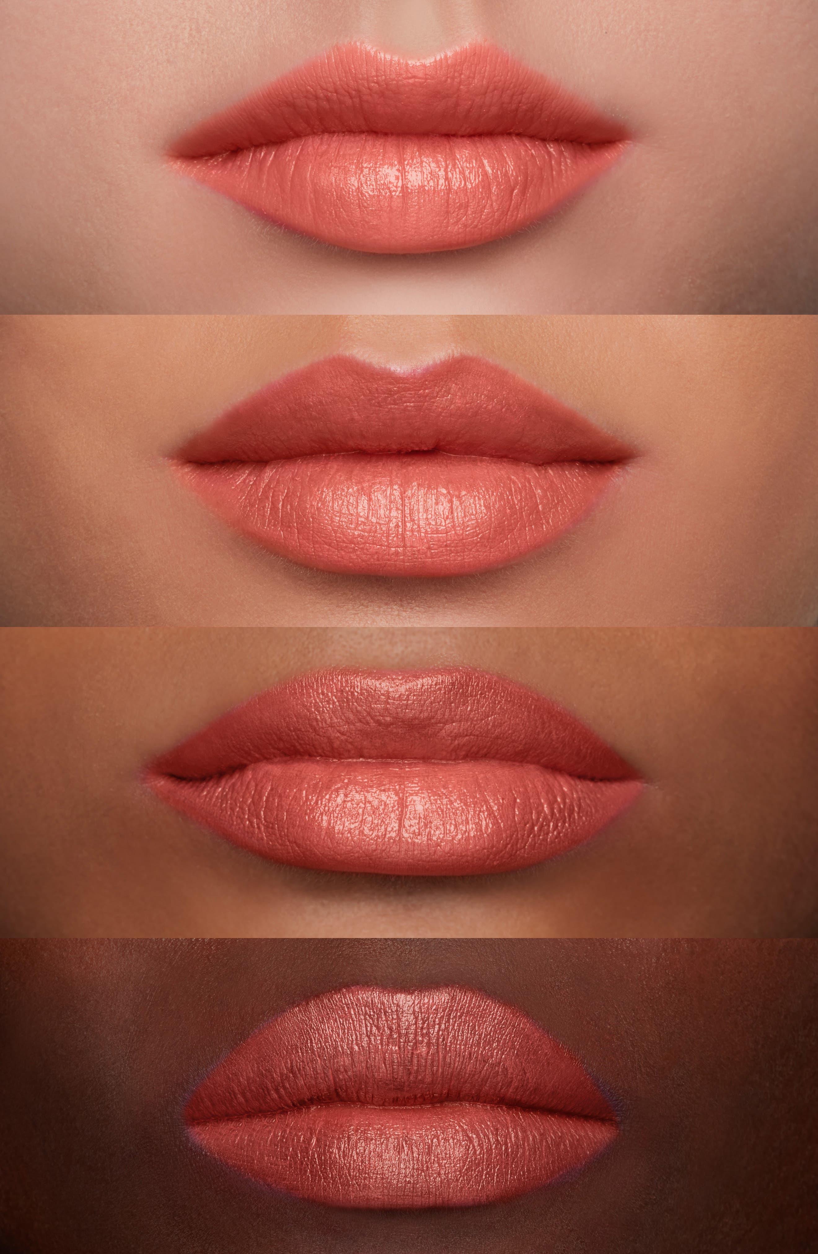 MAC Liptensity Lipstick,                             Alternate thumbnail 3, color,                             SMOKED ALMOND