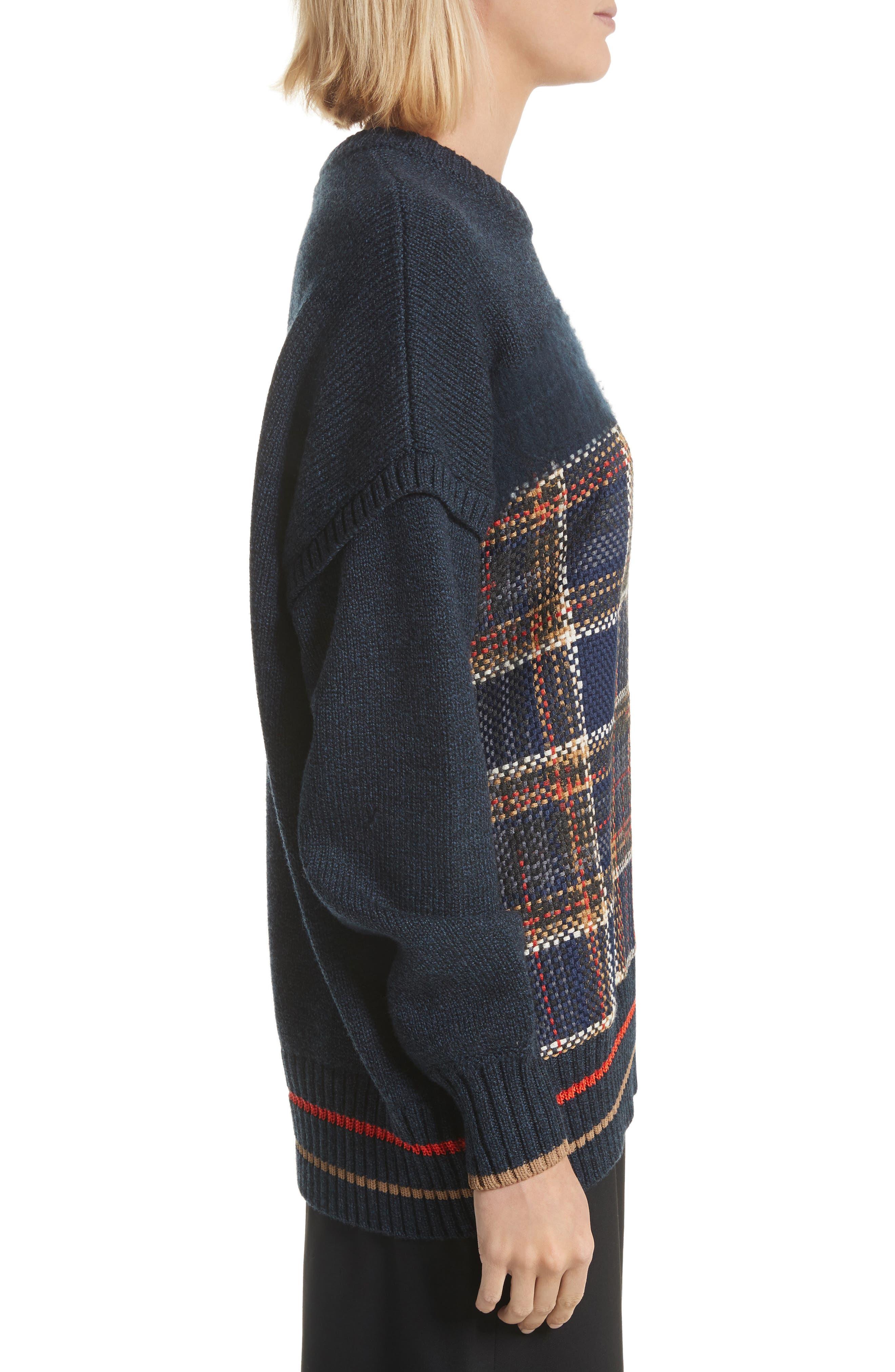 Oversize Sweatshirt,                             Alternate thumbnail 3, color,                             493