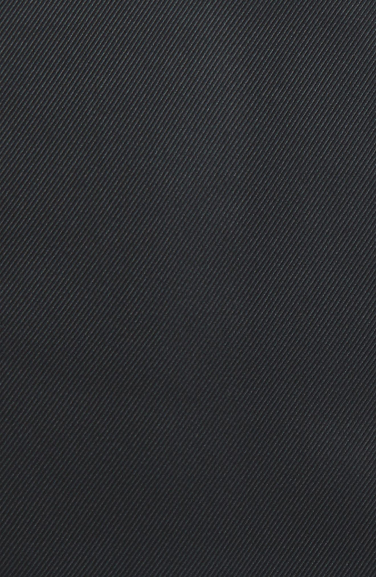 Solid Silk Pocket Square,                             Alternate thumbnail 3, color,                             001